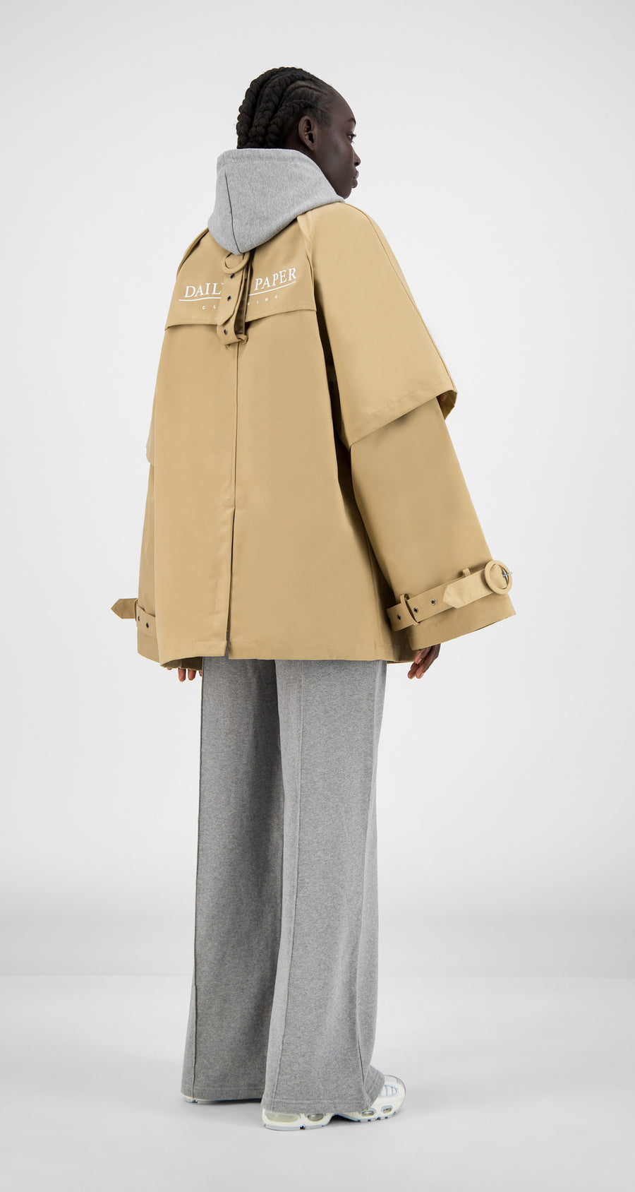 Daily Paper - Beige Hantoe Jacket - Women Rear