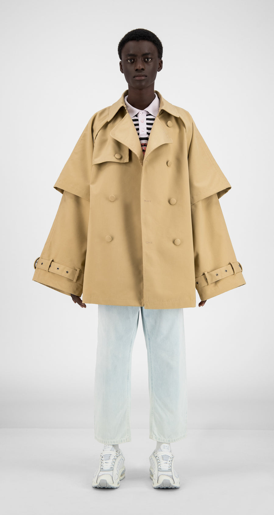 Daily Paper - Beige Hantoe Jacket - Men Front