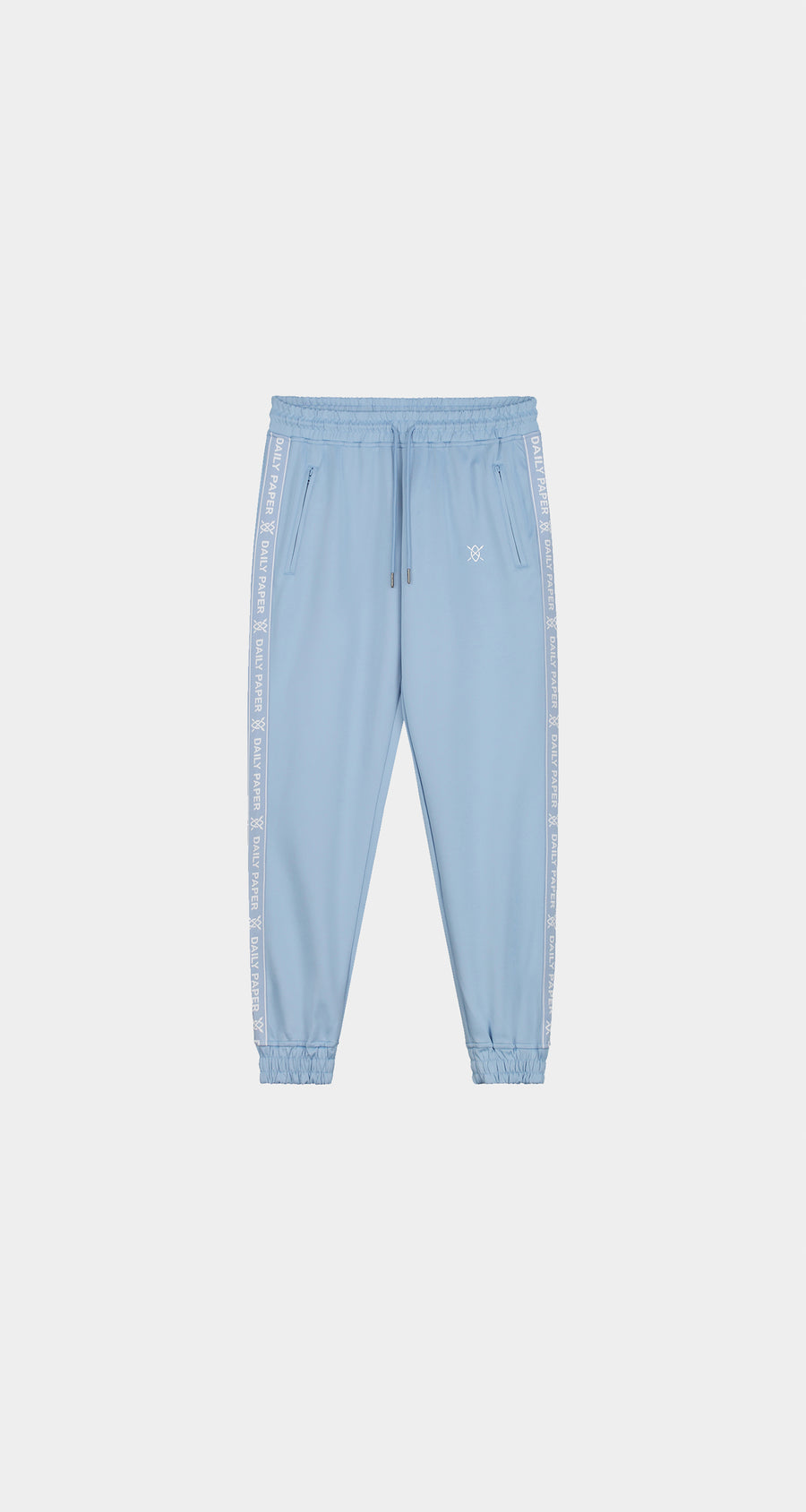 Daily Paper - Bel Air Blue Etape Track Pants - Men Front