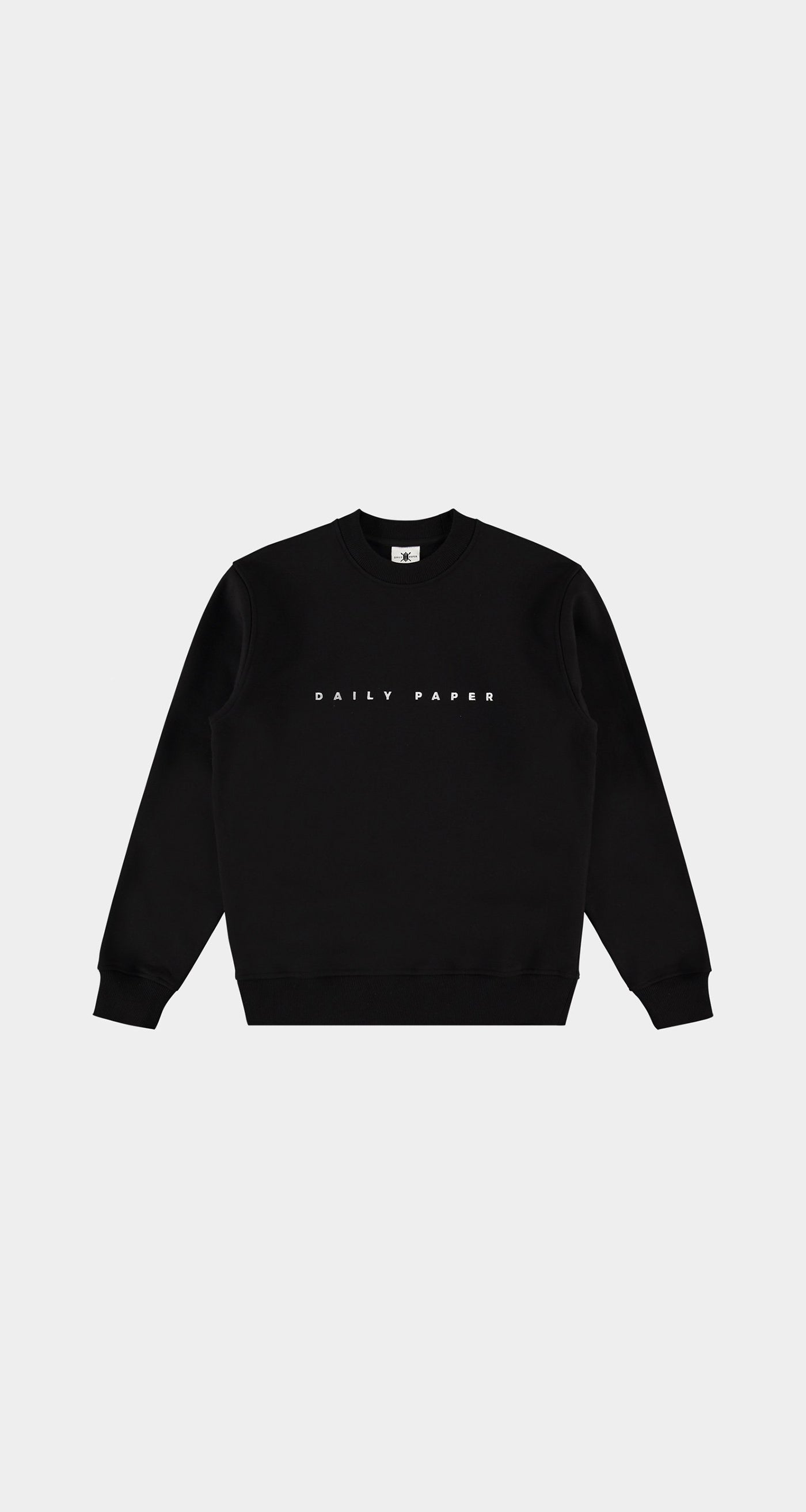 Daily Paper - Black Alias Sweater Men Front