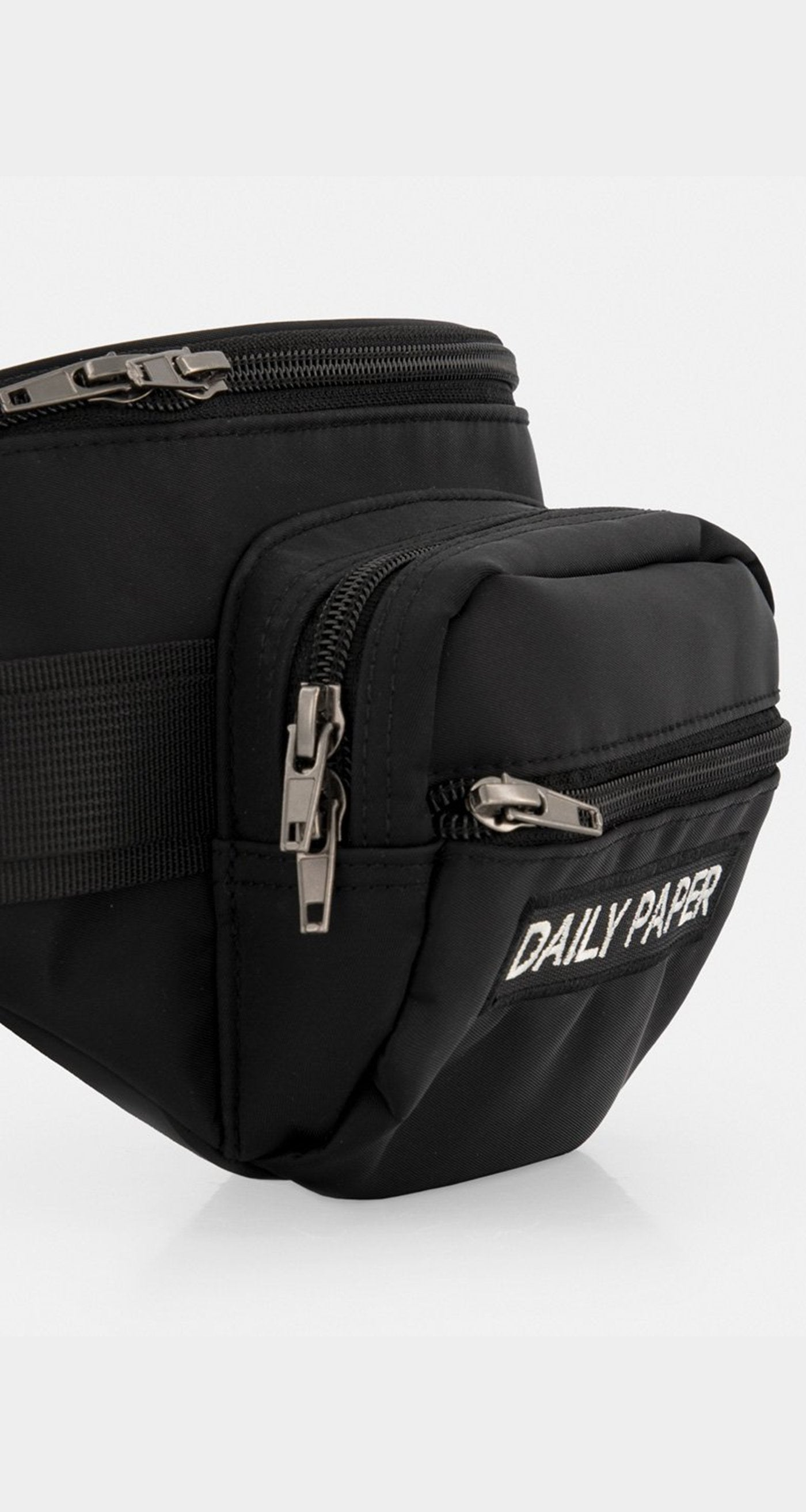 Daily Paper - Black Classic Waist Pack V2