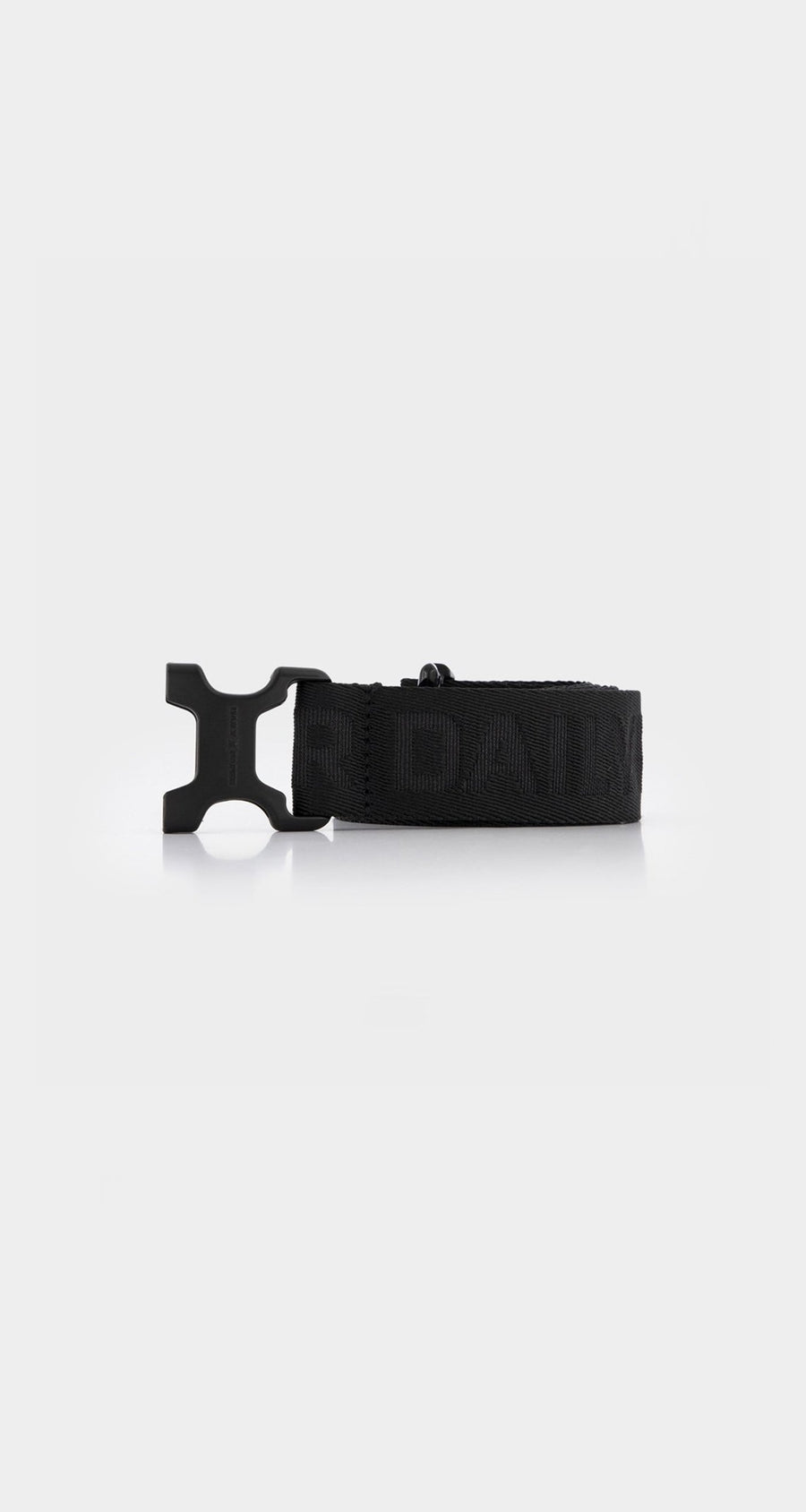 Daily Paper - Black Essential Belt Front