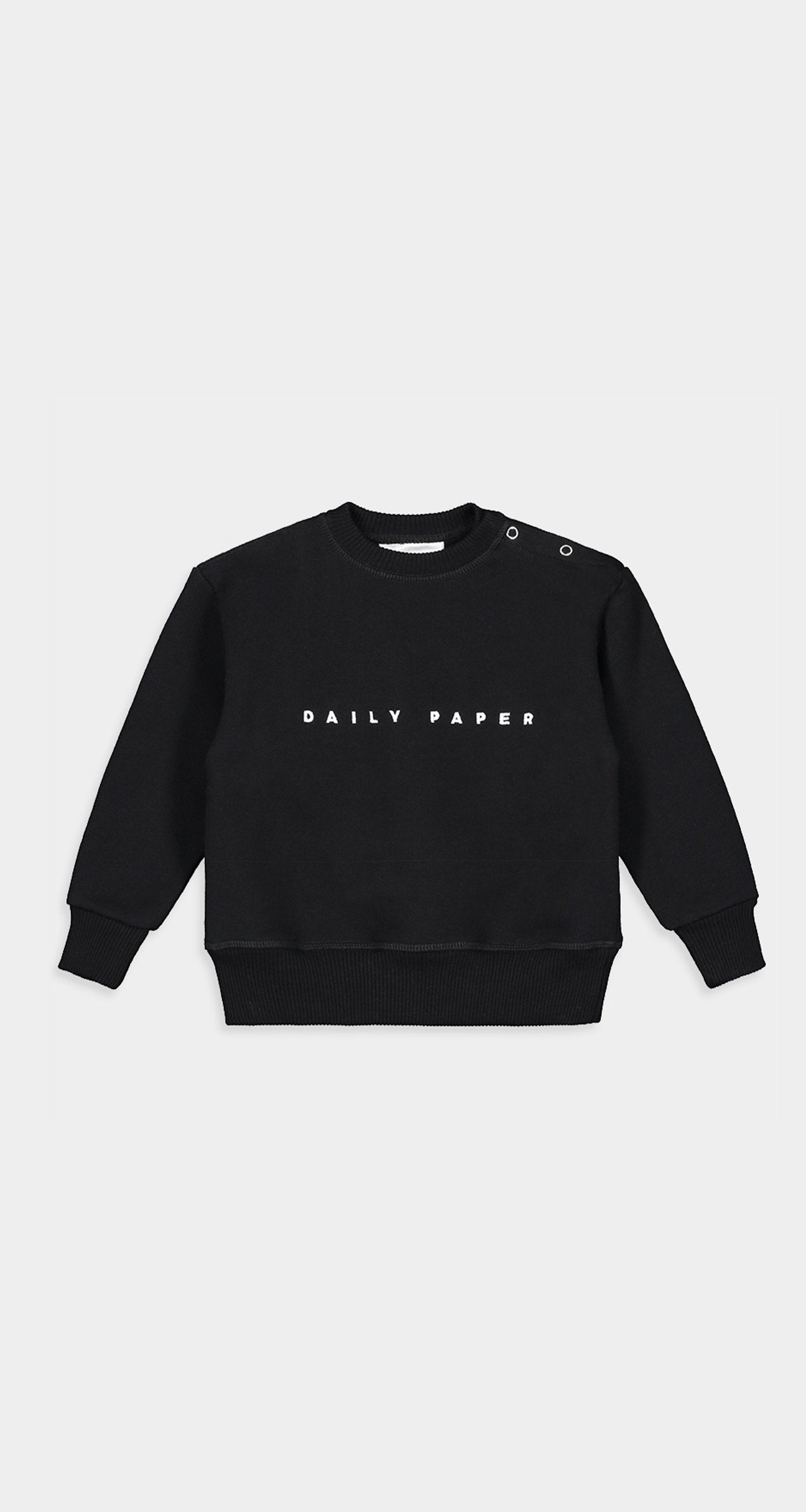 Daily Paper - Black Kids Alias Sweater Front