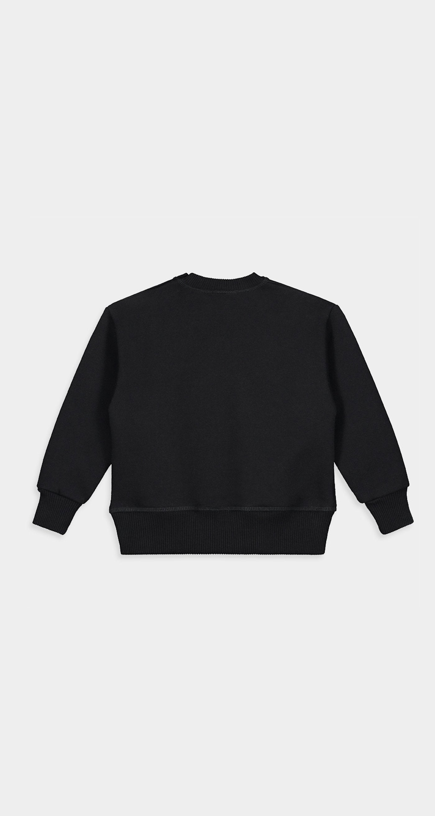 Daily Paper - Black Kids Alias Sweater Rear