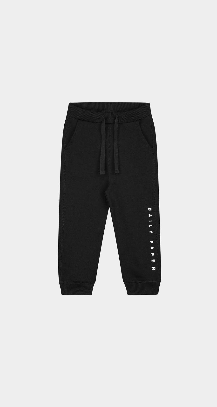 Daily Paper - Black Kids Alias Sweatpants Front