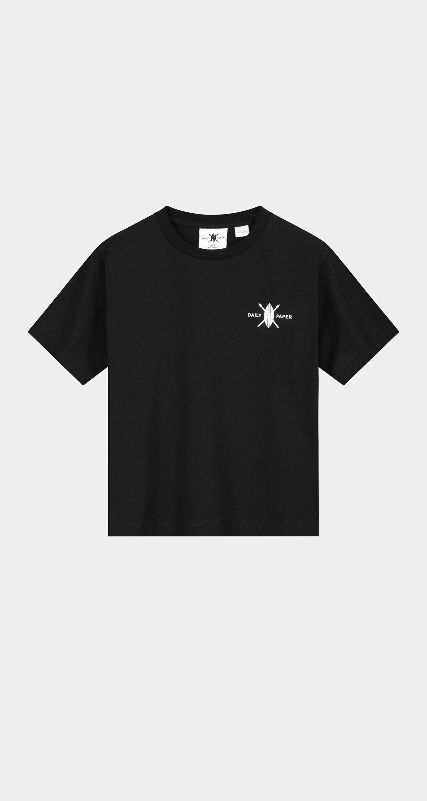 Daily Paper - Black Kids Store T-Shirt Front