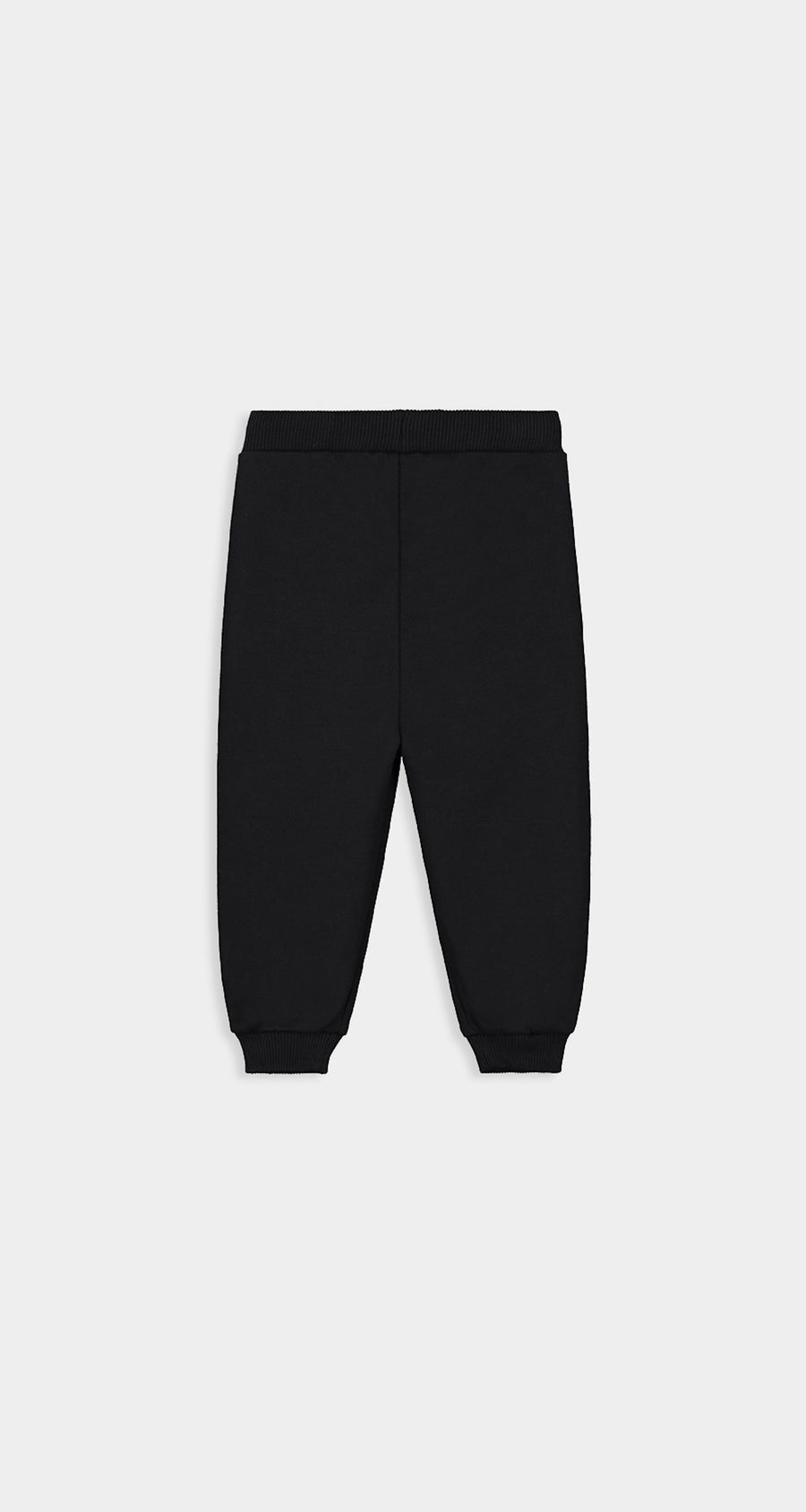 Daily Paper - Black Kids Tape Logo Track Pants - Rear