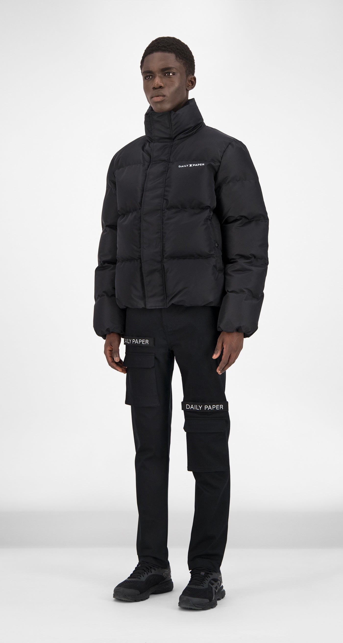 Daily Paper - Black Puffer Jacket Men