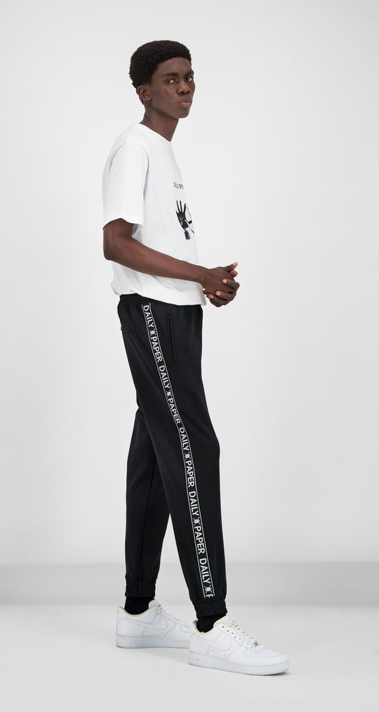Daily Paper - Black Tape Logo Track Pants Men