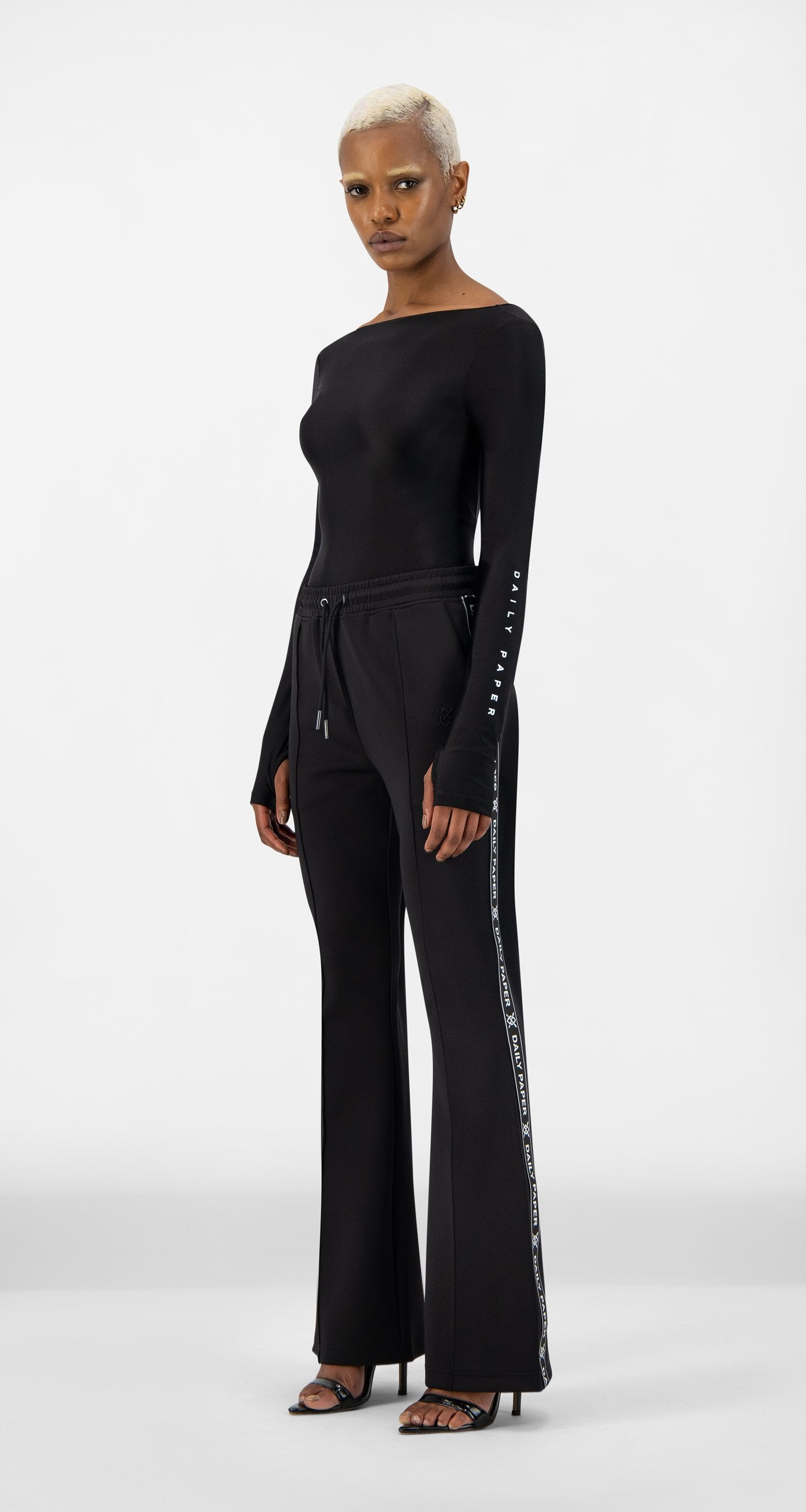 Daily Paper - Black Etape Flare Pants - Women