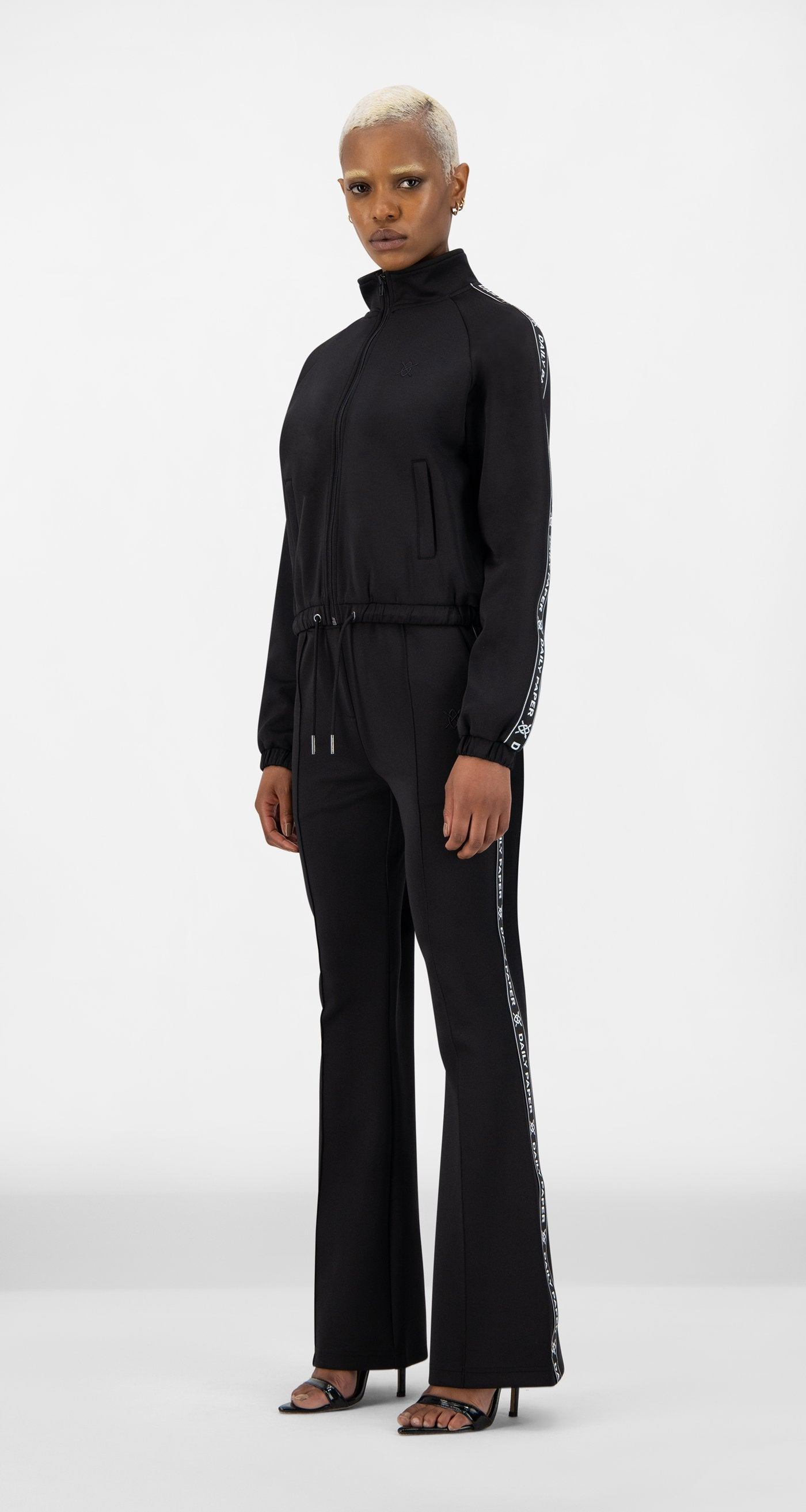 Daily Paper - Black Etape Track Jacket - Women