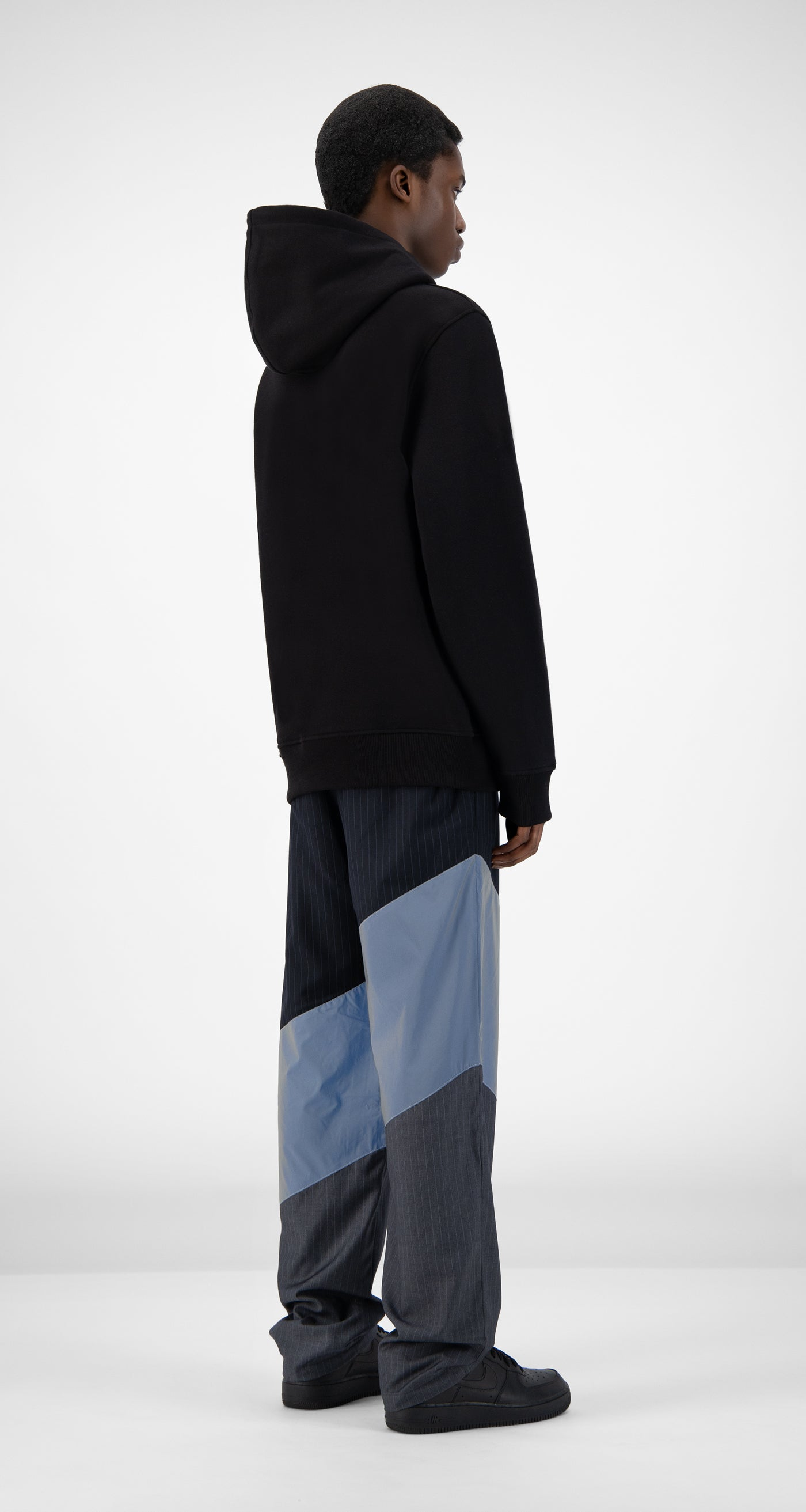 Daily Paper - Black Jabla Hoody - Men Rear