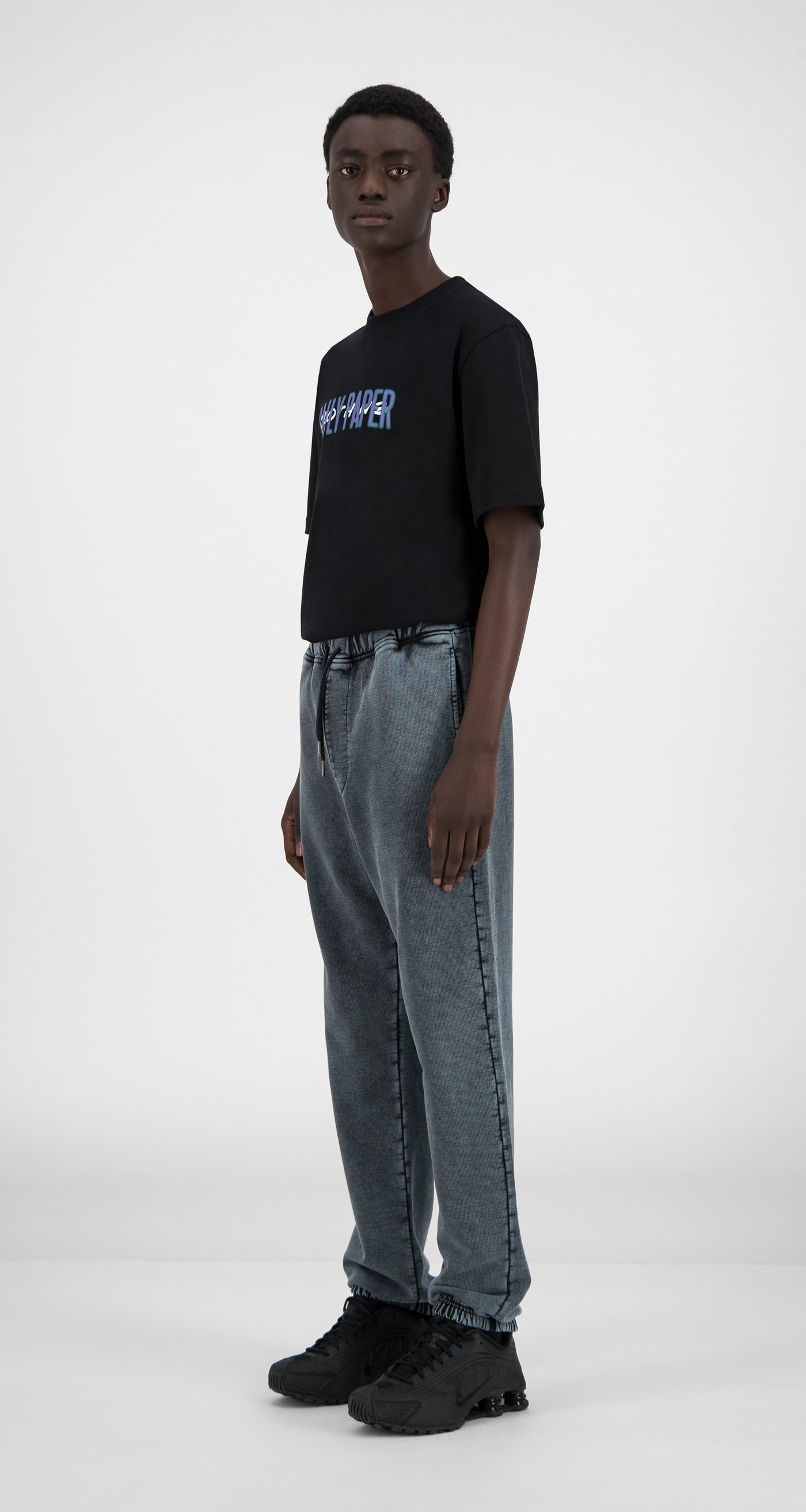 Daily Paper - Washed Black Hacid Pants - Men