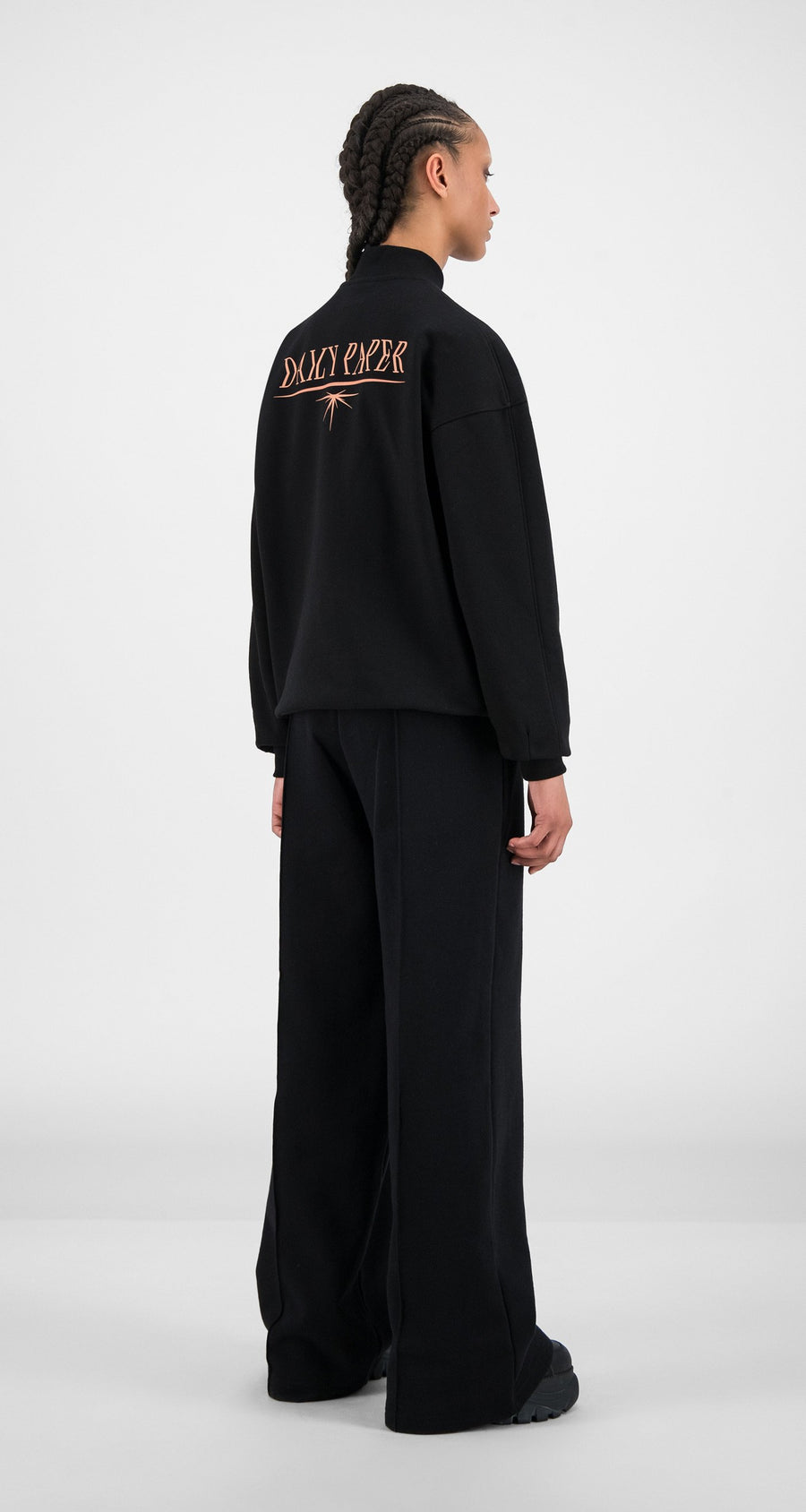 Daily Paper - Black Himbla Sweater - Women Rear