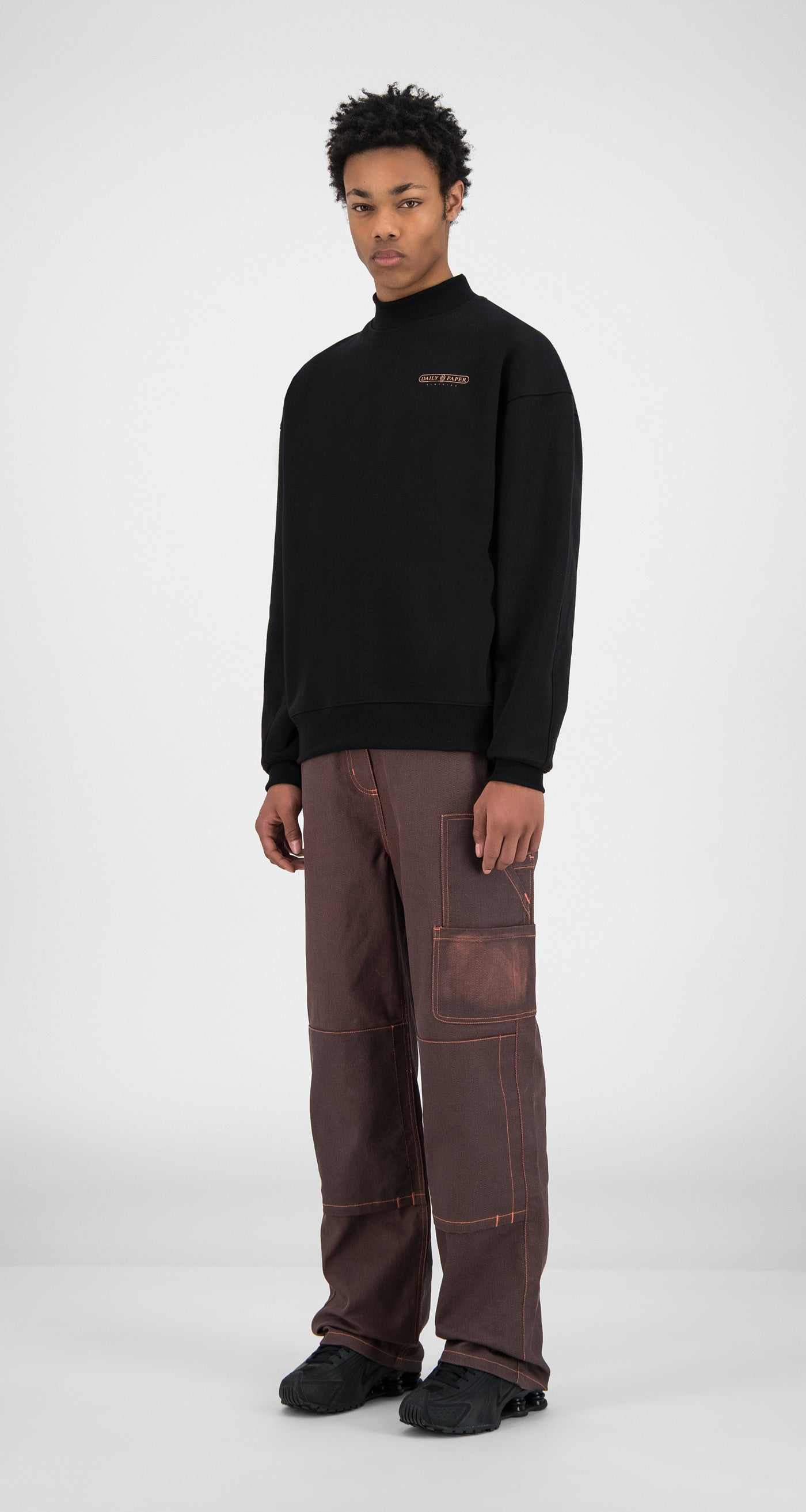 Daily Paper - Black Himbla Sweater - Men