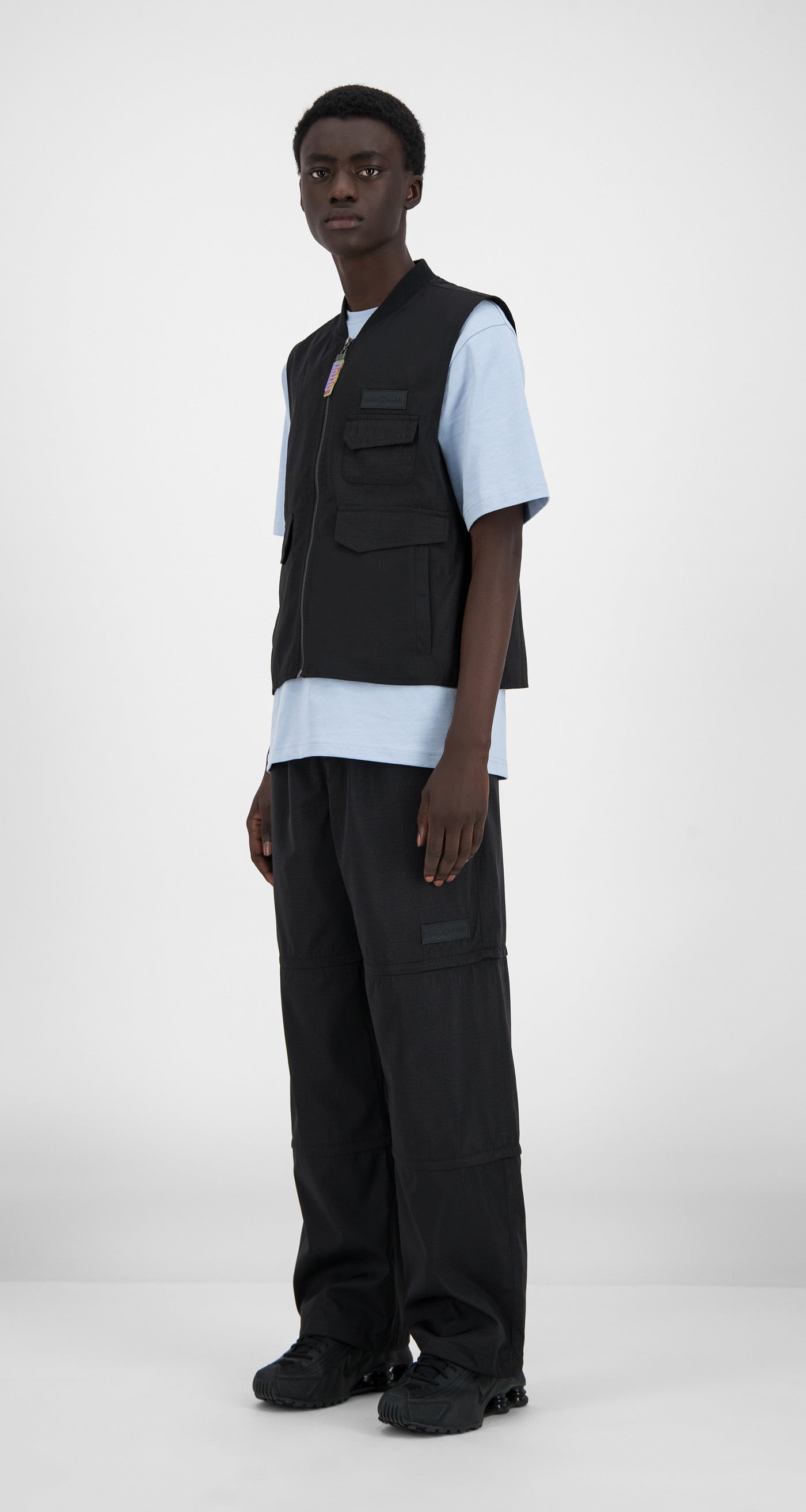 Daily Paper - Black Husam Vest - Men