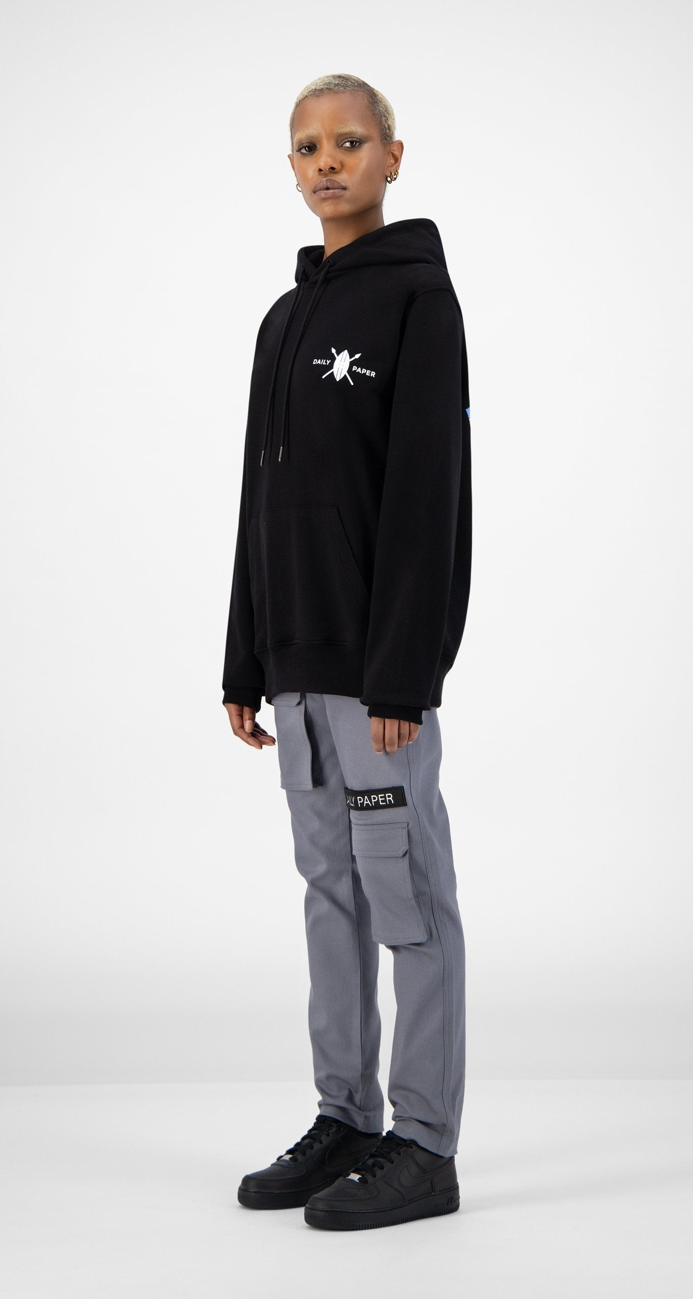 Daily Paper - Black NYC Store Hoody - Women