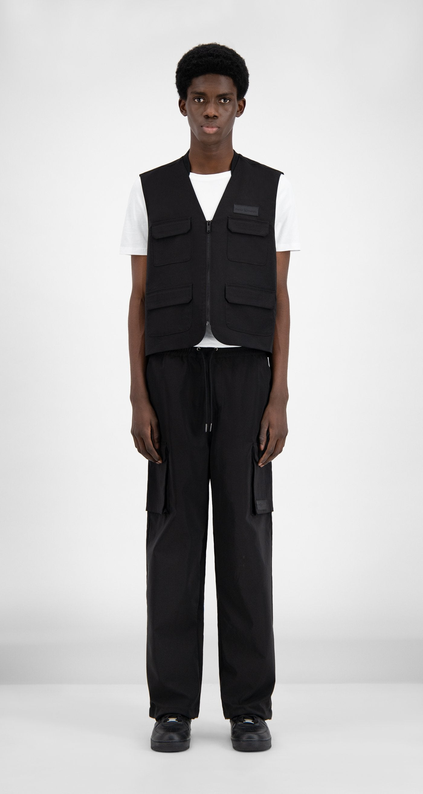 Daily Paper - Black Recargo Trackpants - Men