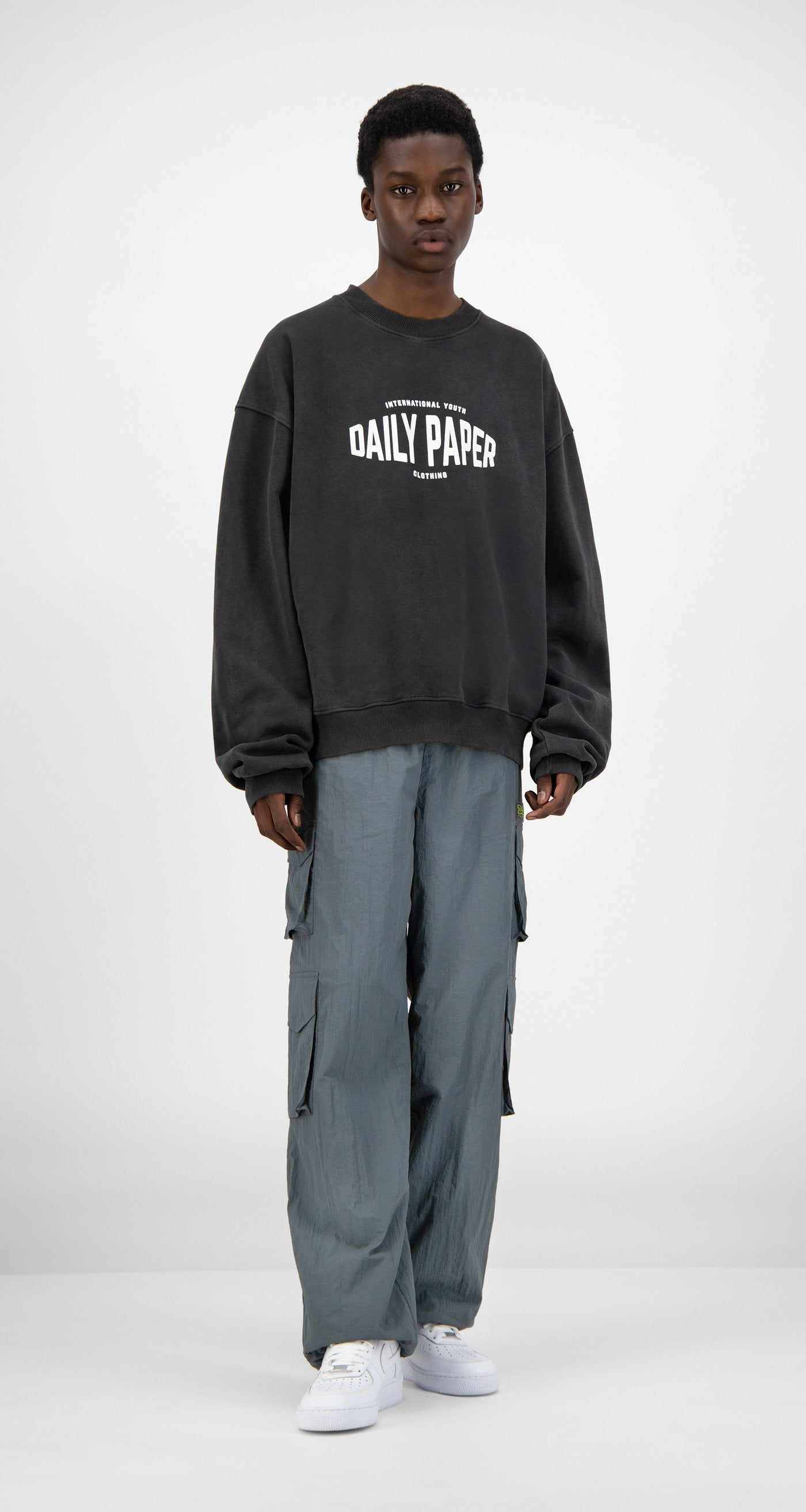 Daily Paper - Black Washed Hoyouth Sweater - Men