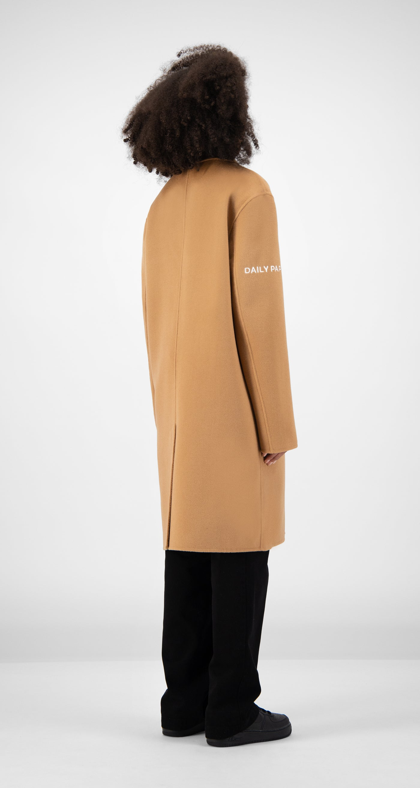 Daily Paper - Camel Wool Captain Coat Women