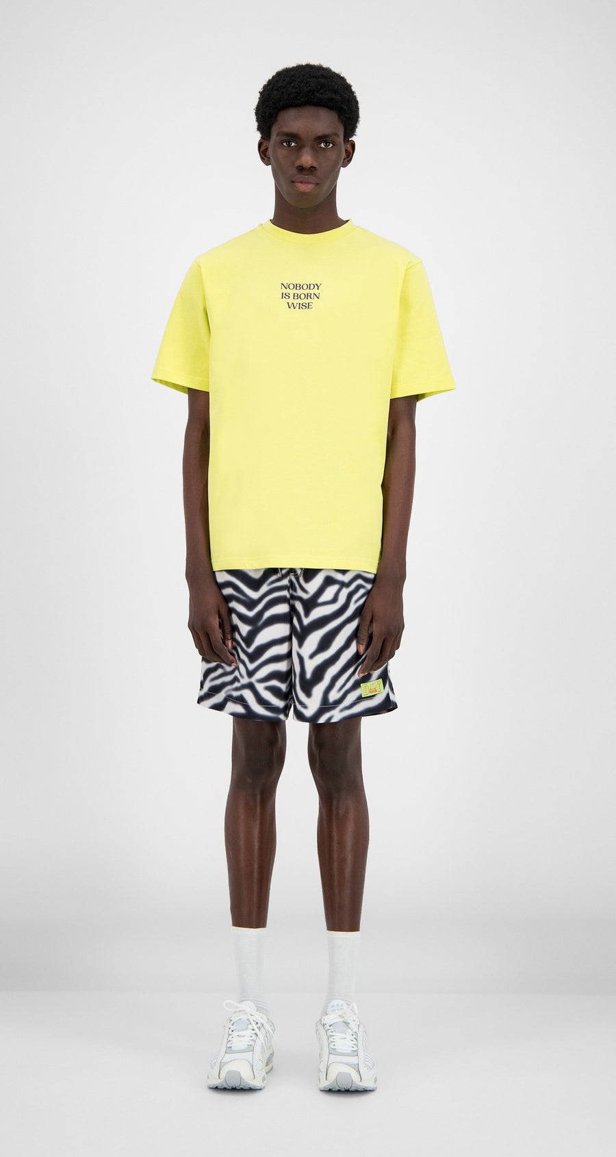 Daily Paper - Canary Yellow Hencana T-Shirt - Men Front