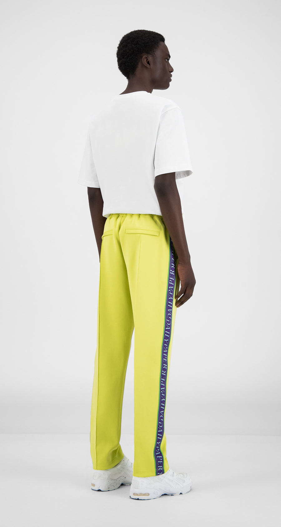 Daily Paper - Canary Yellow Liba Pants - Men Rear