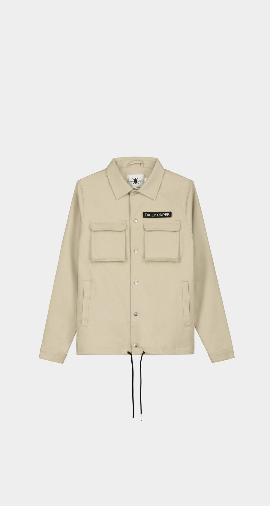 Daily Paper - Cargo Coach Jacket Beige Men Front