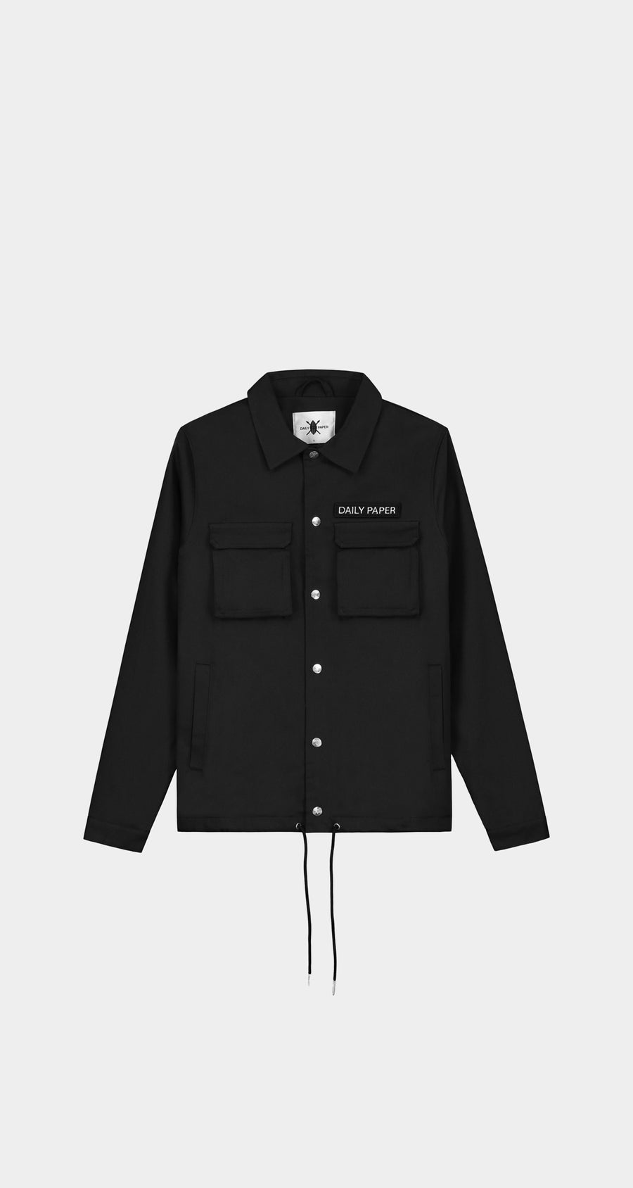 Daily Paper - Cargo Coach Jacket Black Men Front