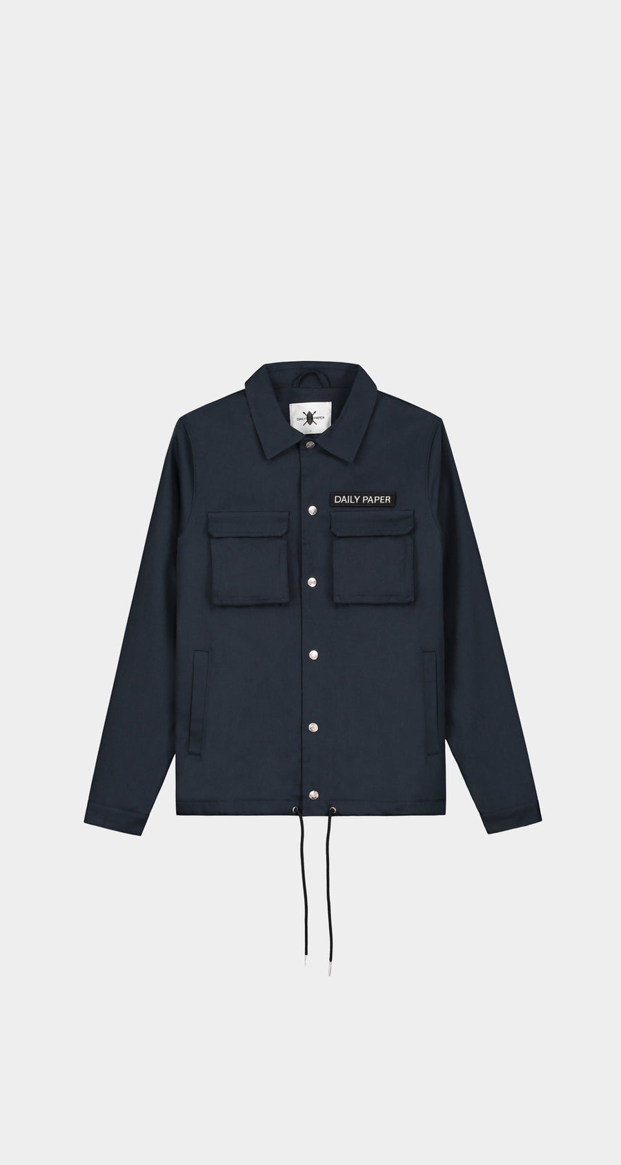 Daily Paper - Cargo Coach Jacket Navy Men Front