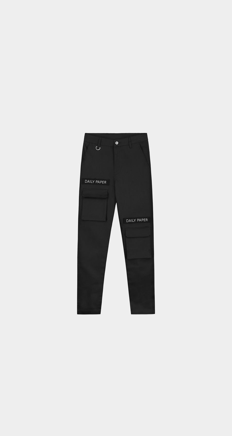 Daily Paper - Cargo Pants Black Women Front
