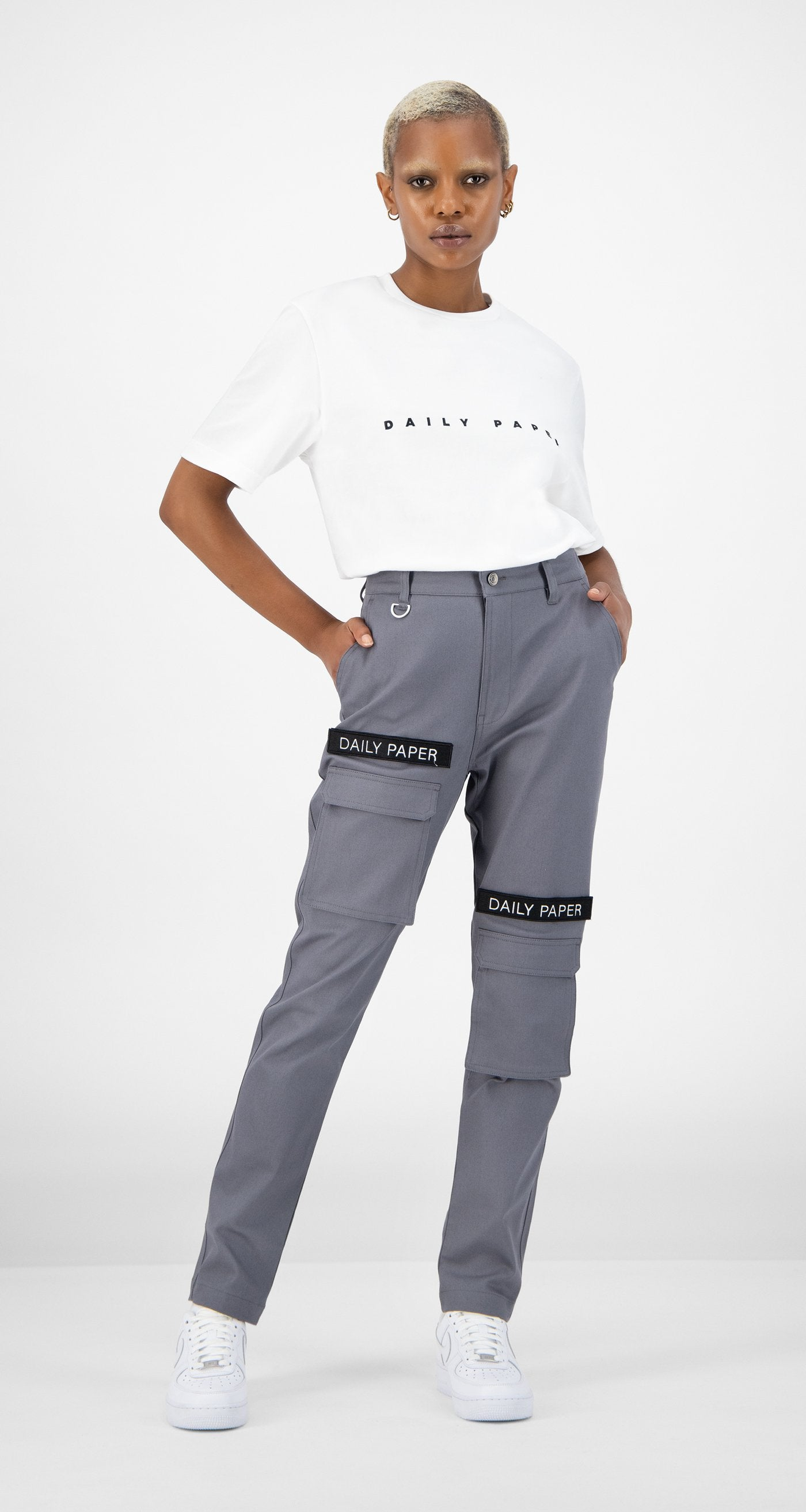 Daily Paper - Cargo Pants Grey Women