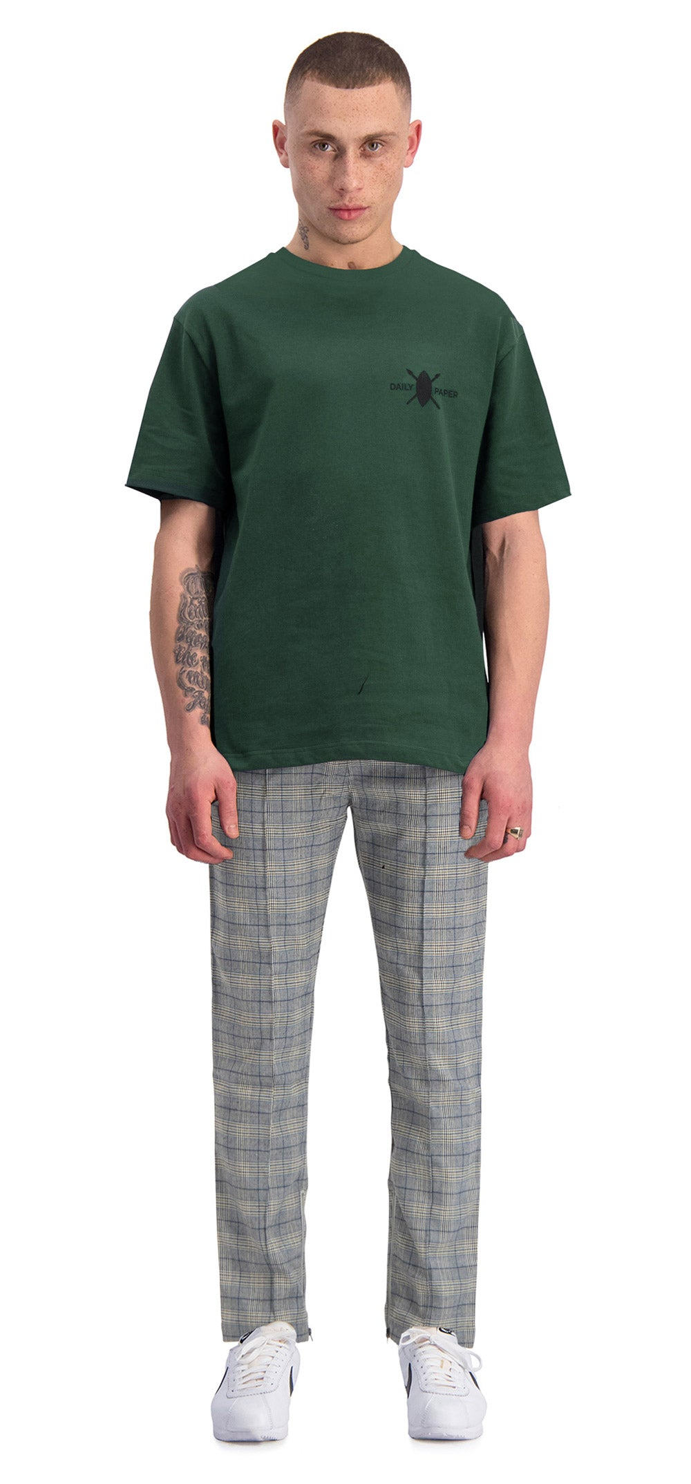 Dark Green Chata T-Shirt
