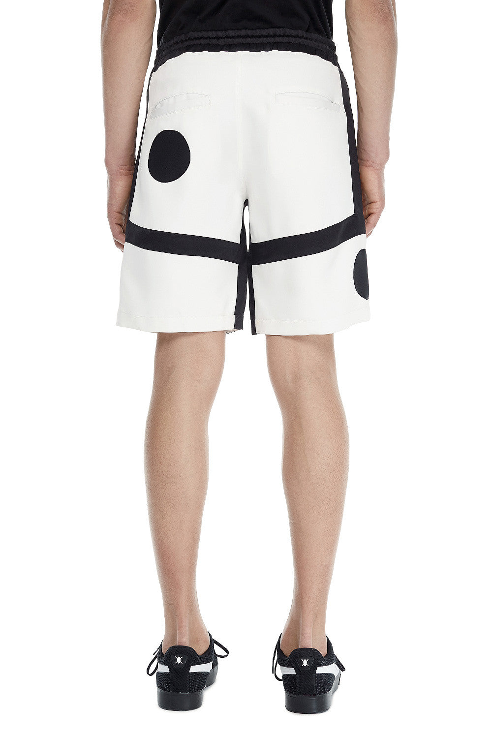 White/Black Short