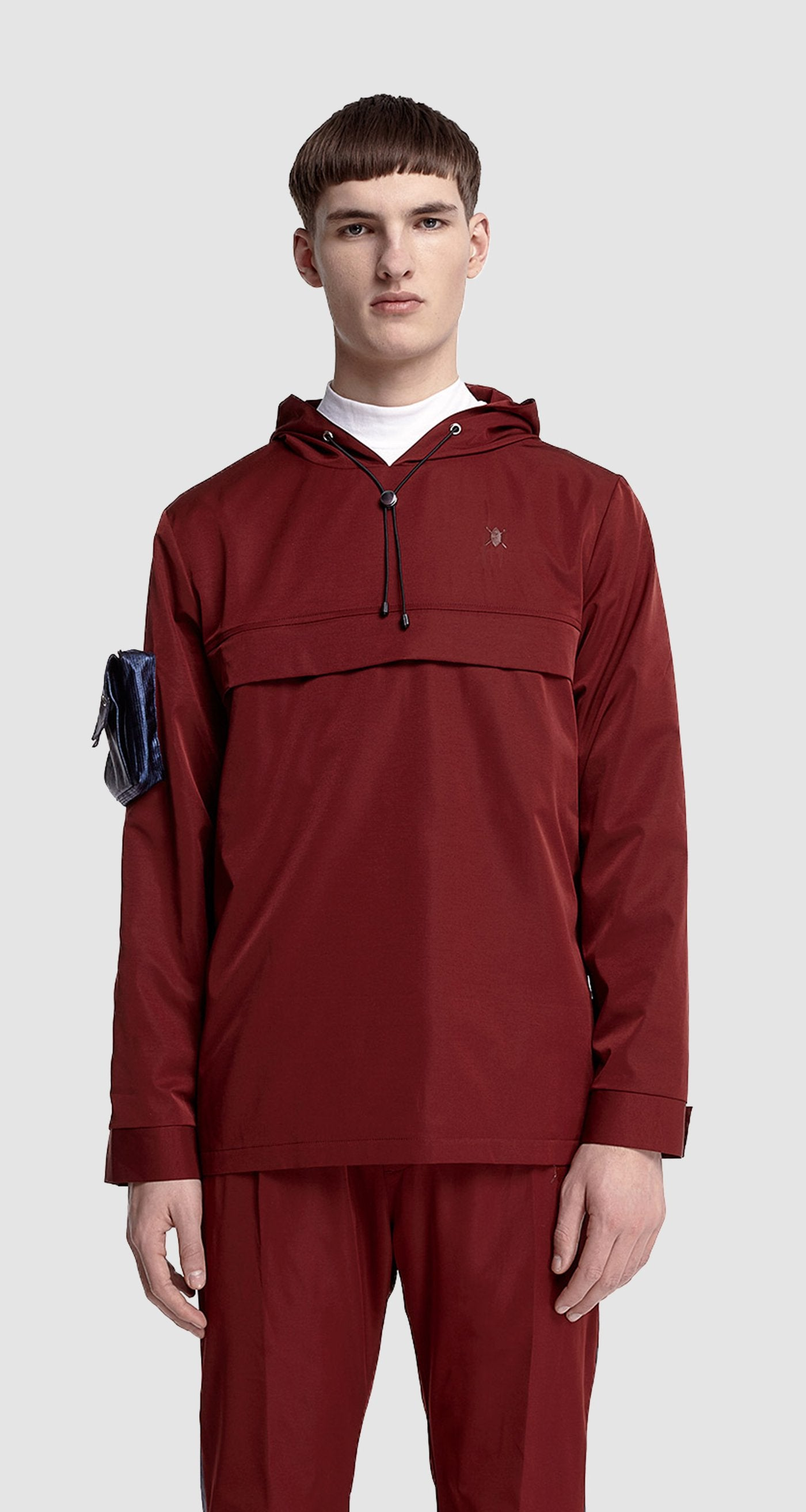 Daily Paper - Burgundy Anorak Jacket