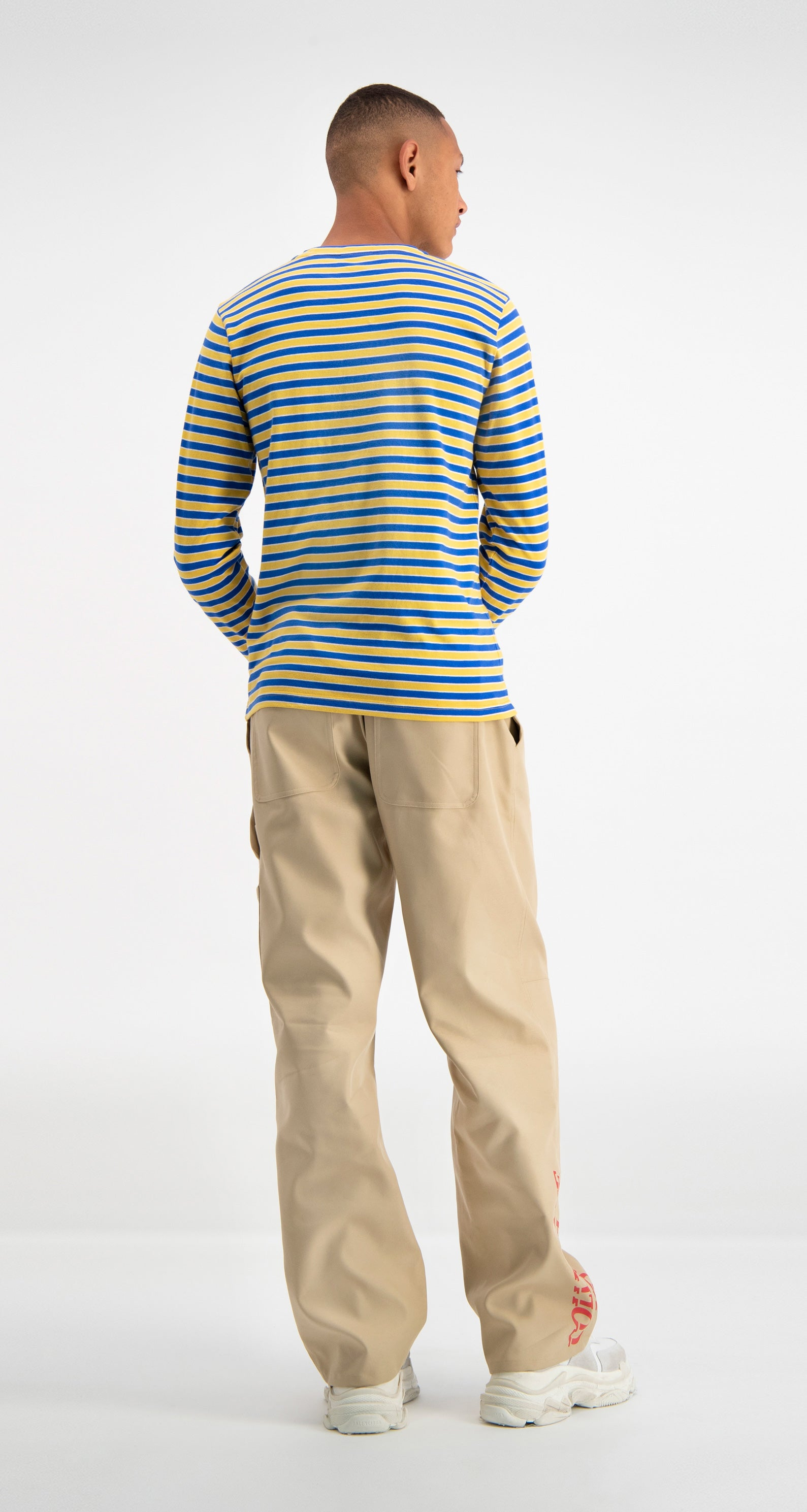 Yellow Striped Daso Longsleeve