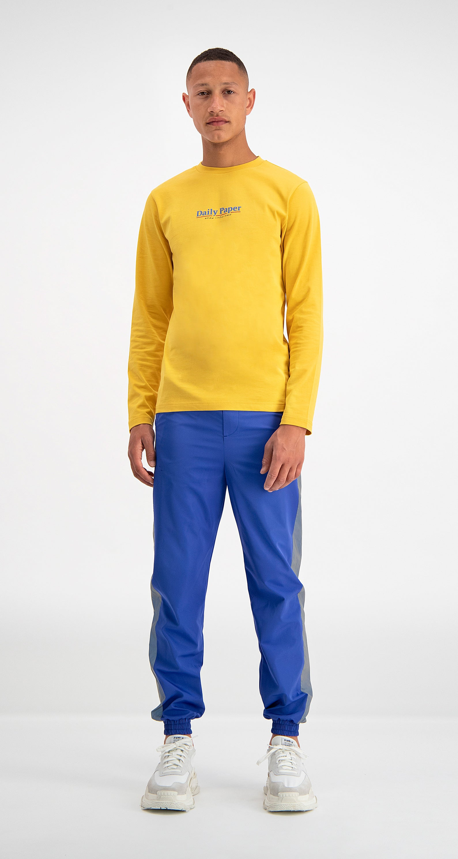 Daily Paper - Yellow Disa Longsleeve Men Front