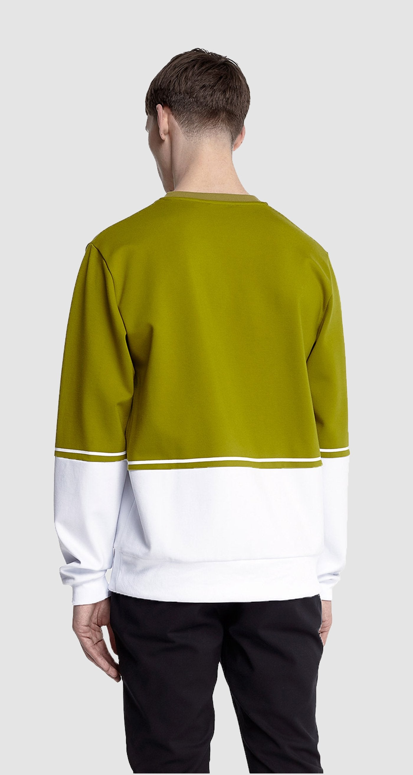 Daily Paper - GREEN CONTRAST SWEATER