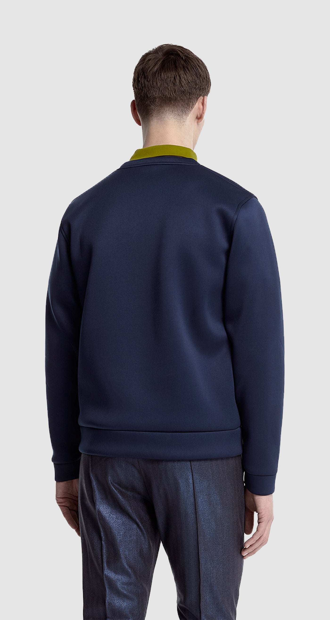 Navy Neo Prene Sweater