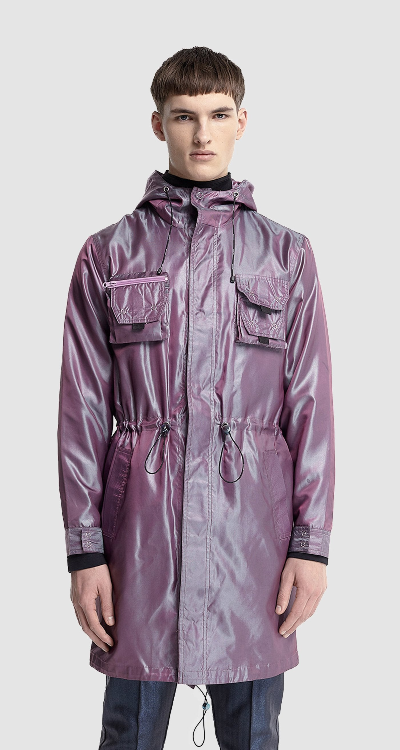 Daily Paper - PURPLE FISHTAIL PARKA