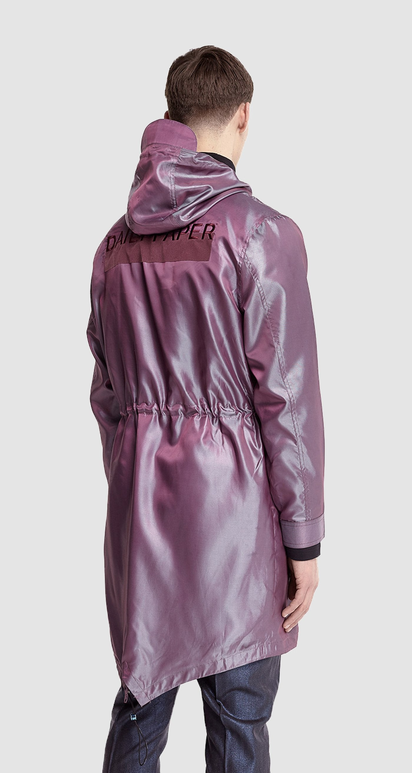 Purple Fishtail Parka