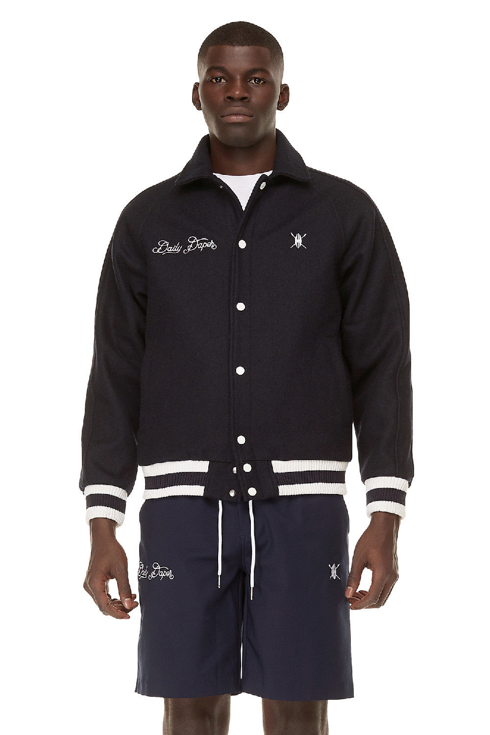 Wool Omo Valley Varsity Jacket