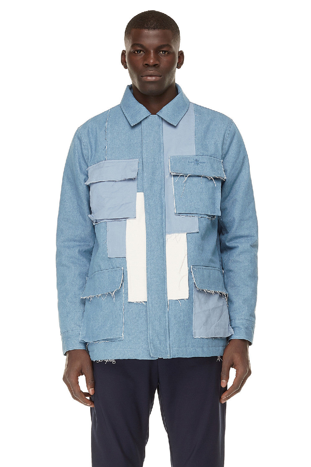 Denim Patchwork Jacket