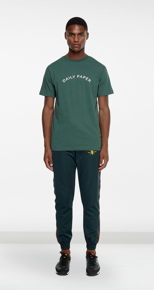 Daily Paper - Dark Green Arc Logo T-shirt Men