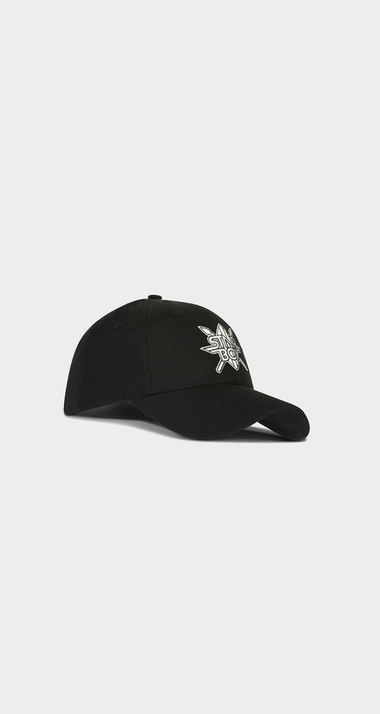Daily Paper x STARBOY Black Cap Men Front