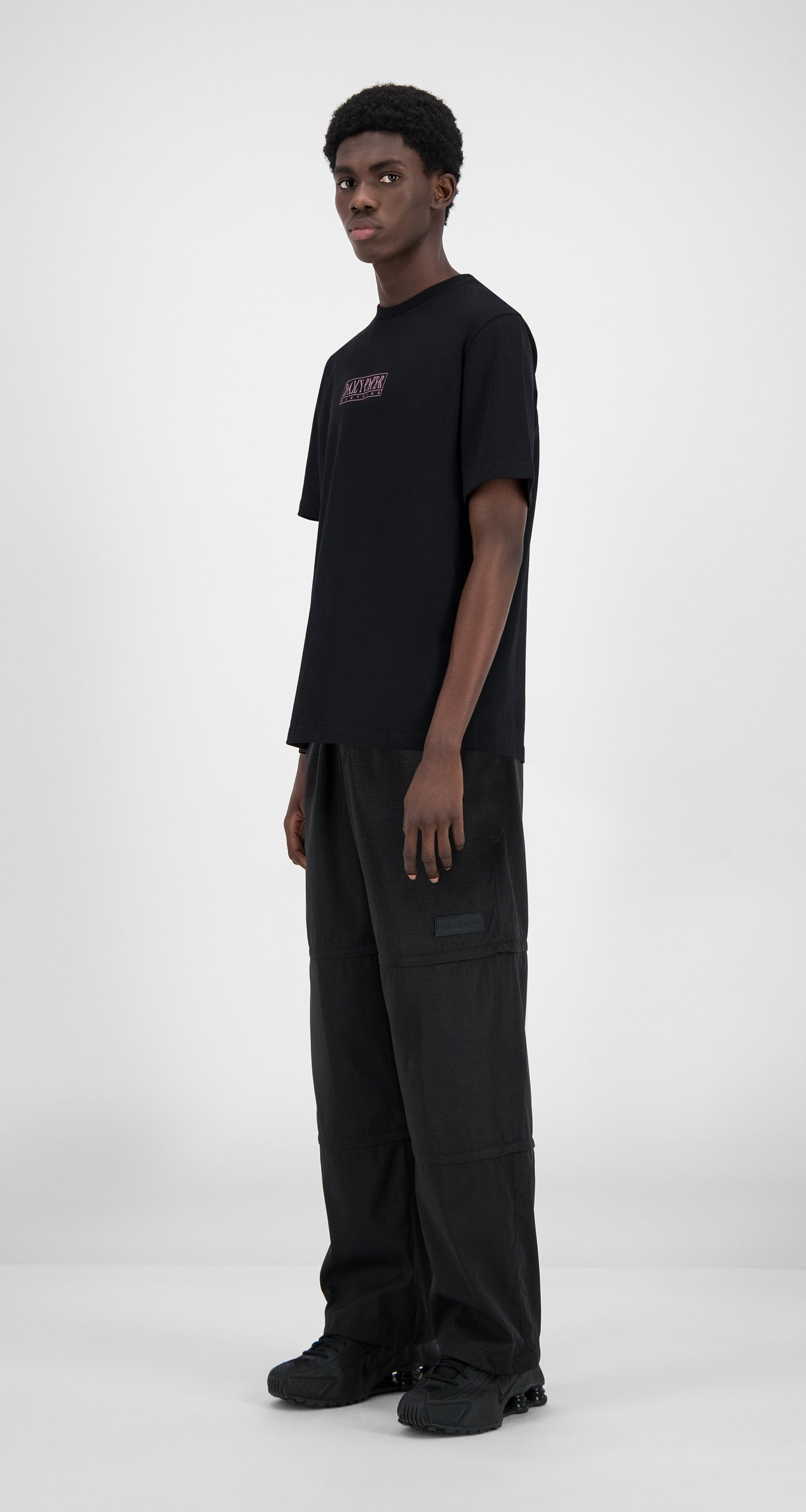 Daily Paper - Black Horbla T-Shirt - Men