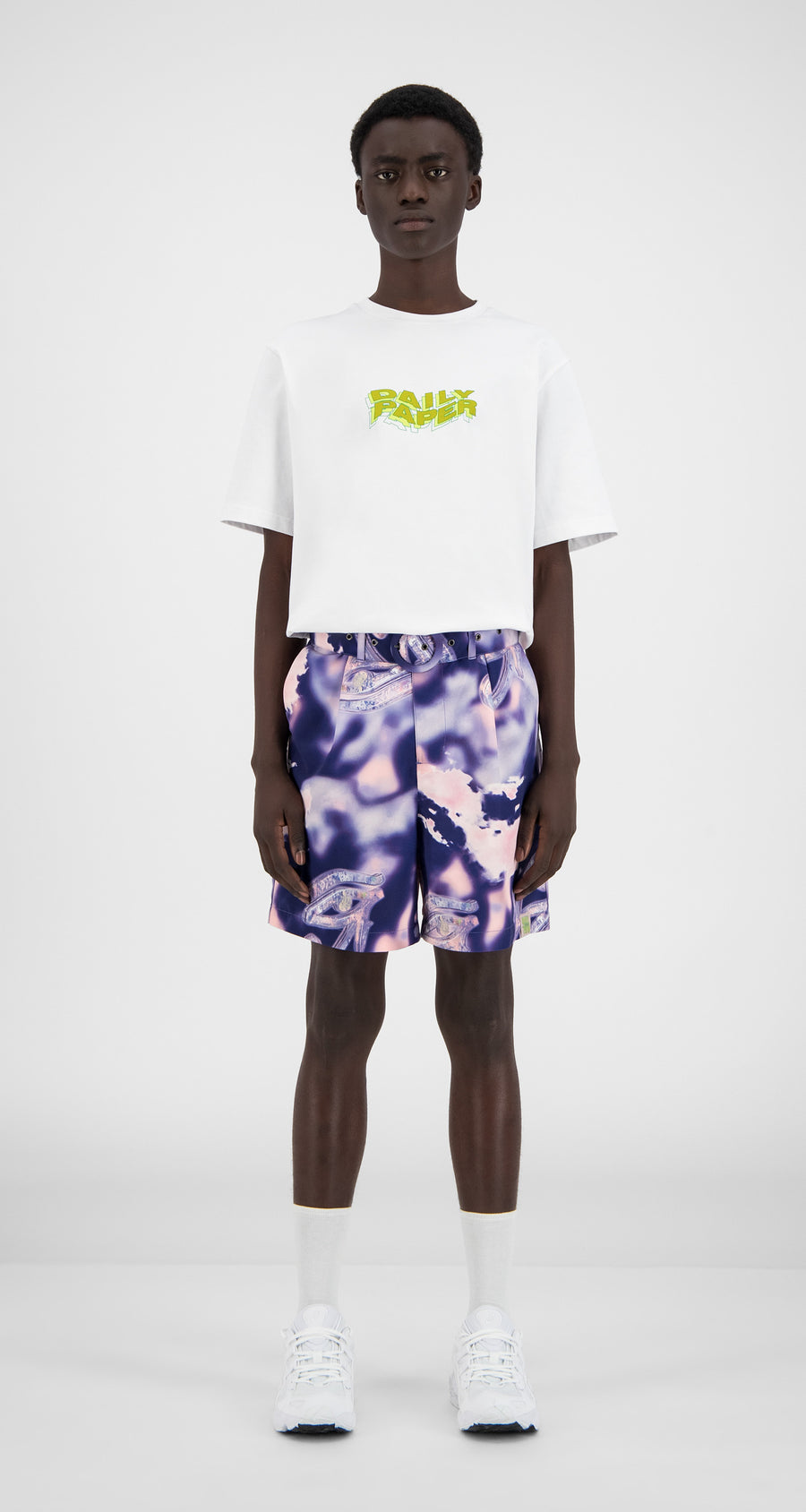 Daily Paper - Dreamy World Hori Shorts - Men Front