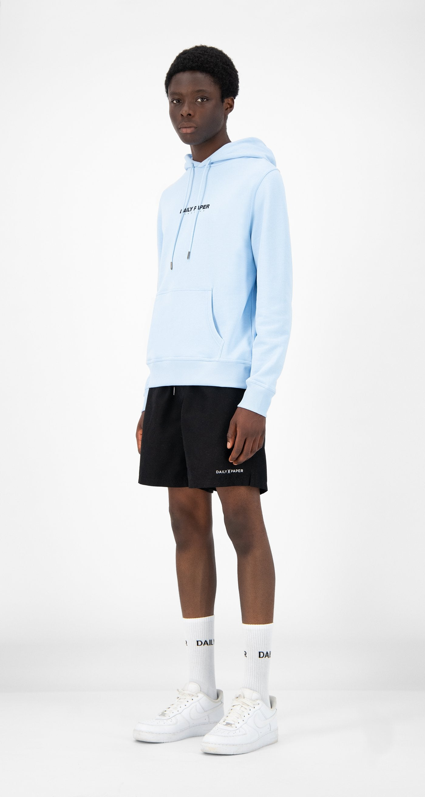 Daily Paper - Light Blue Remulti Hoody - Men