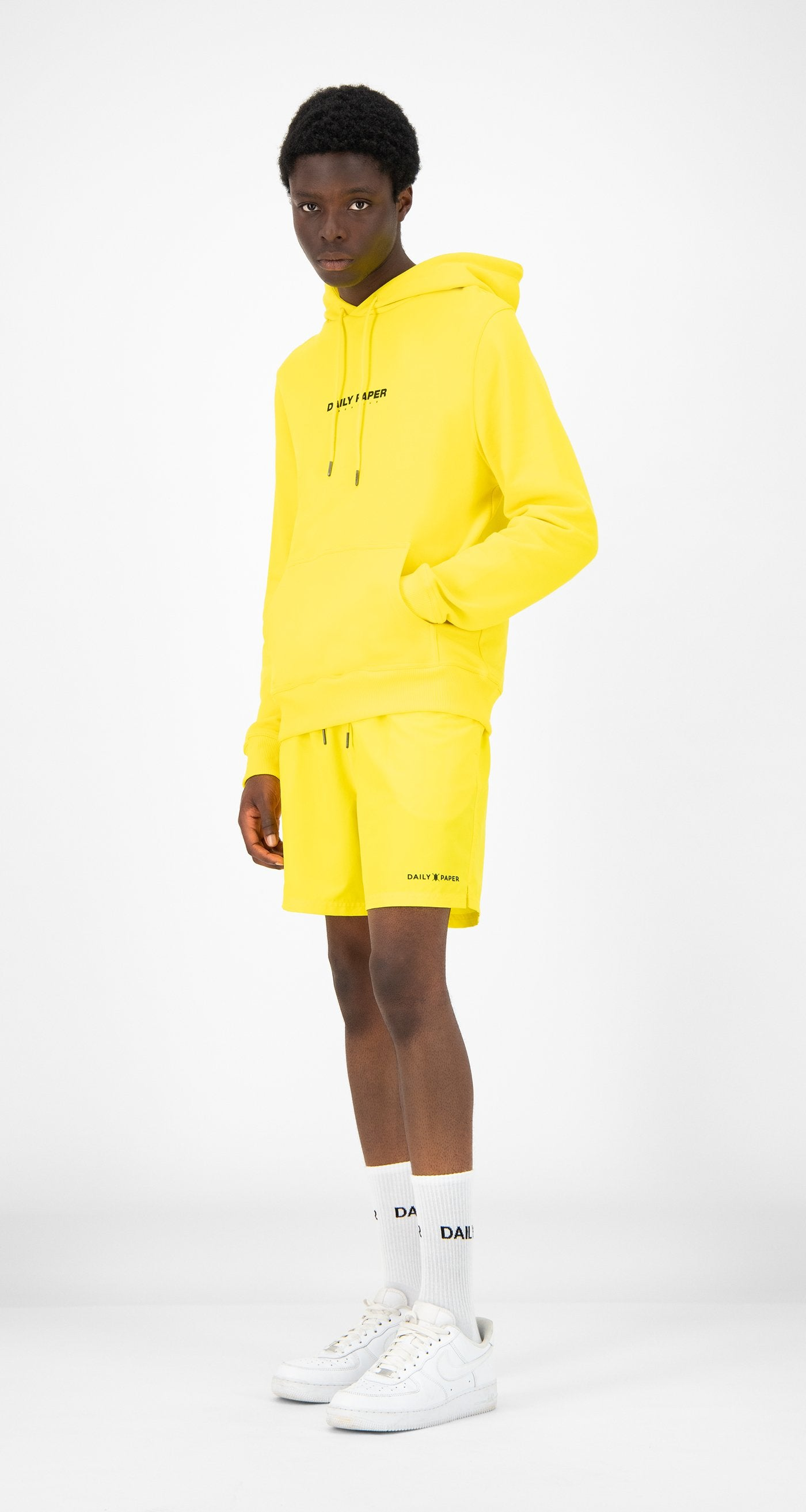 Daily Paper - Yellow Remulti Hoody - Men