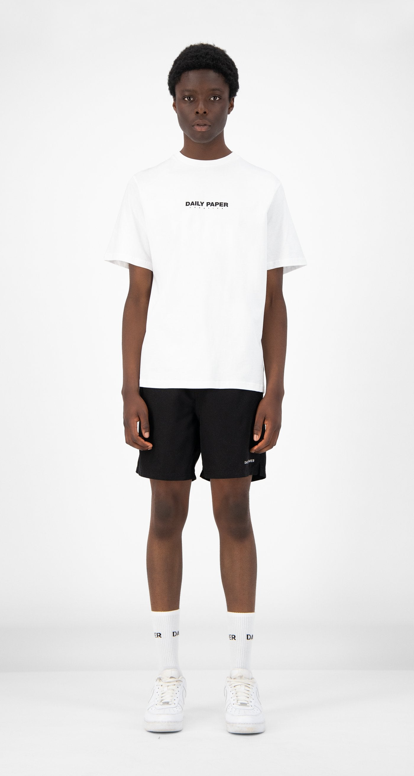 Daily Paper - White Remulti T-Shirt - Men Front