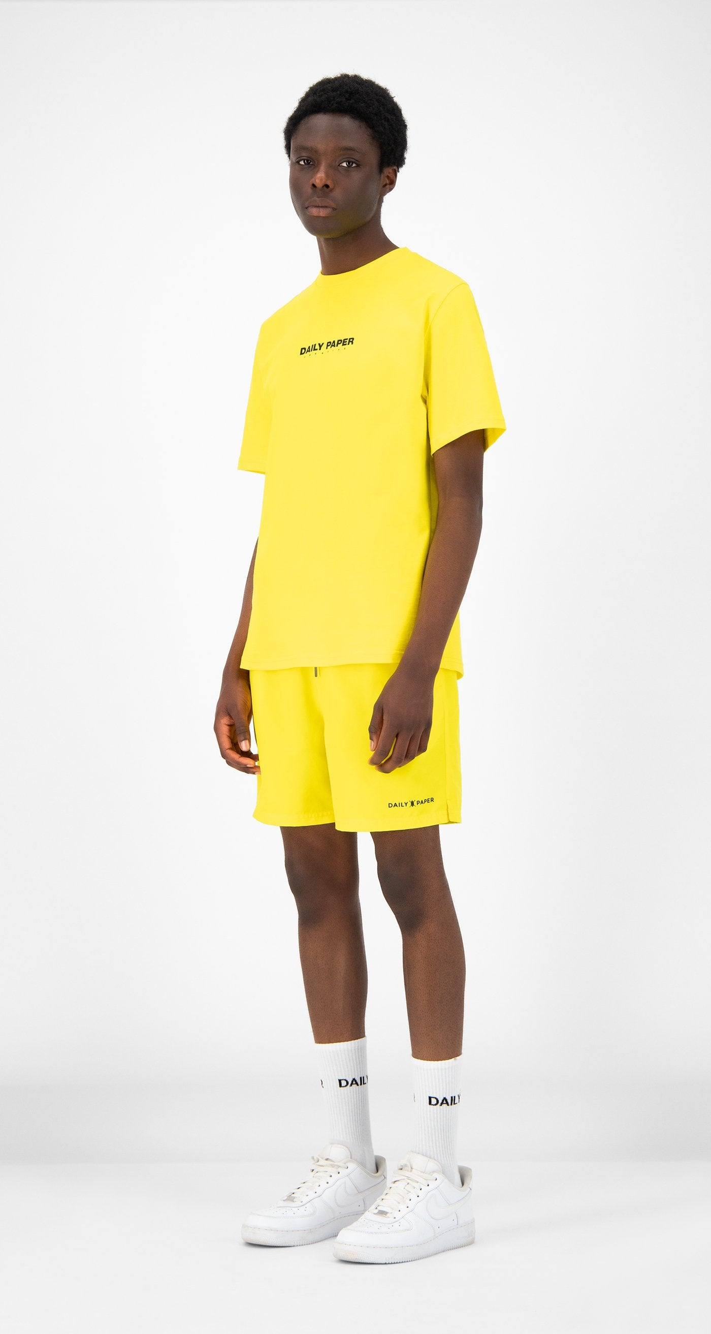 Daily Paper - Yellow Remulti T-Shirt - Men